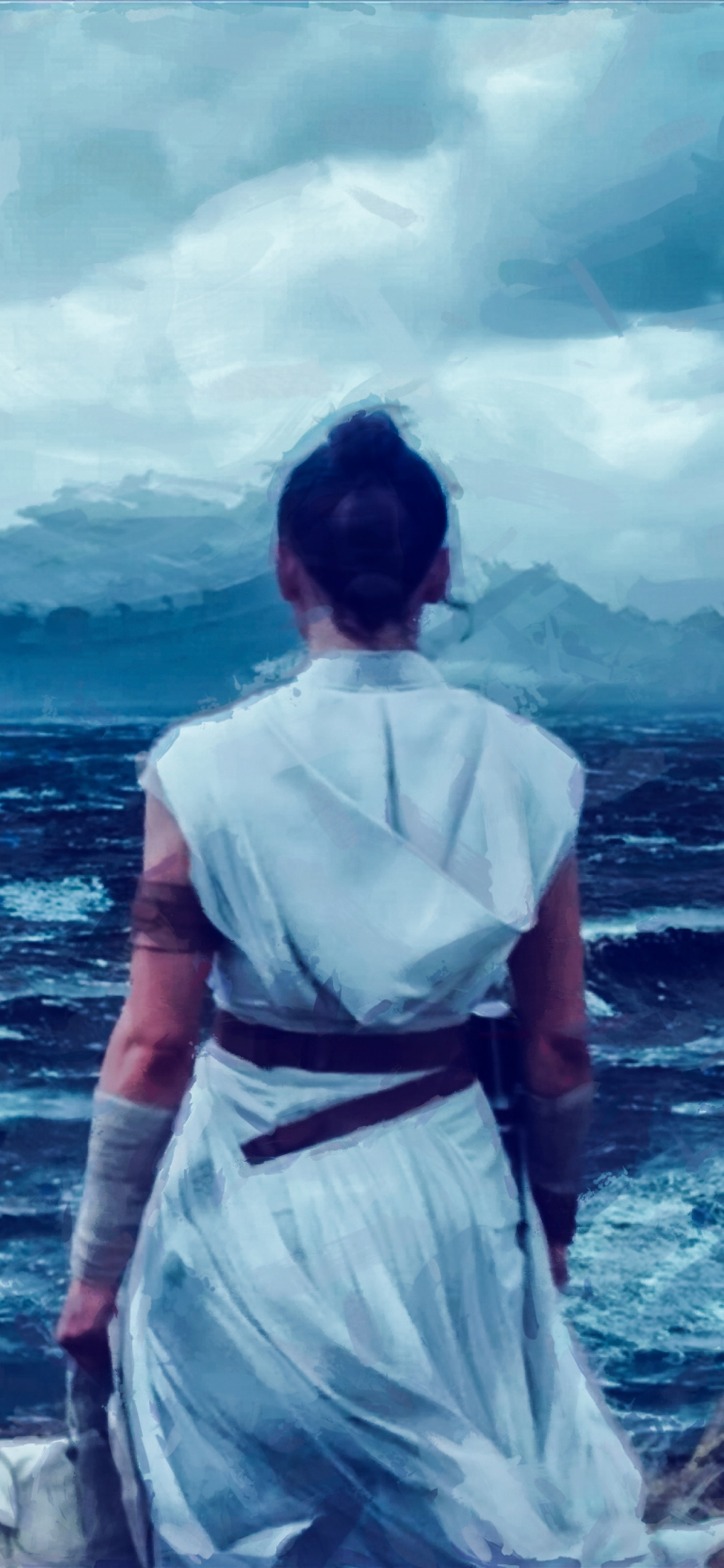 1242x2688 Star Wars Jedi The Rise Of Skywalker Art Iphone Xs Max Wallpaper Hd Artist 4k Wallpapers Images Photos And Background