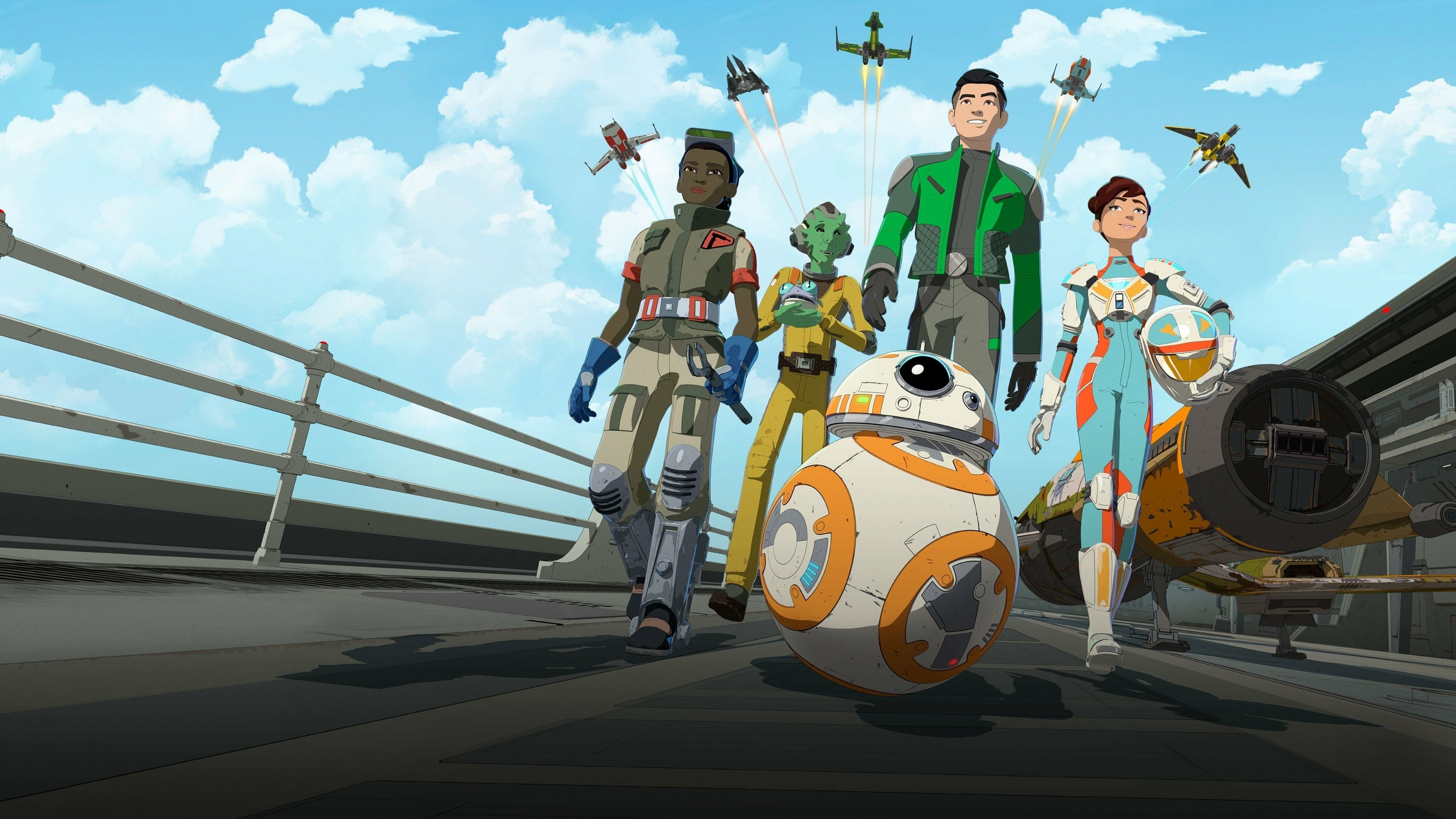 2560x1024 Star Wars Resistance 4k 2560x1024 Resolution Wallpaper Hd Tv Series 4k Wallpapers Images Photos And Background