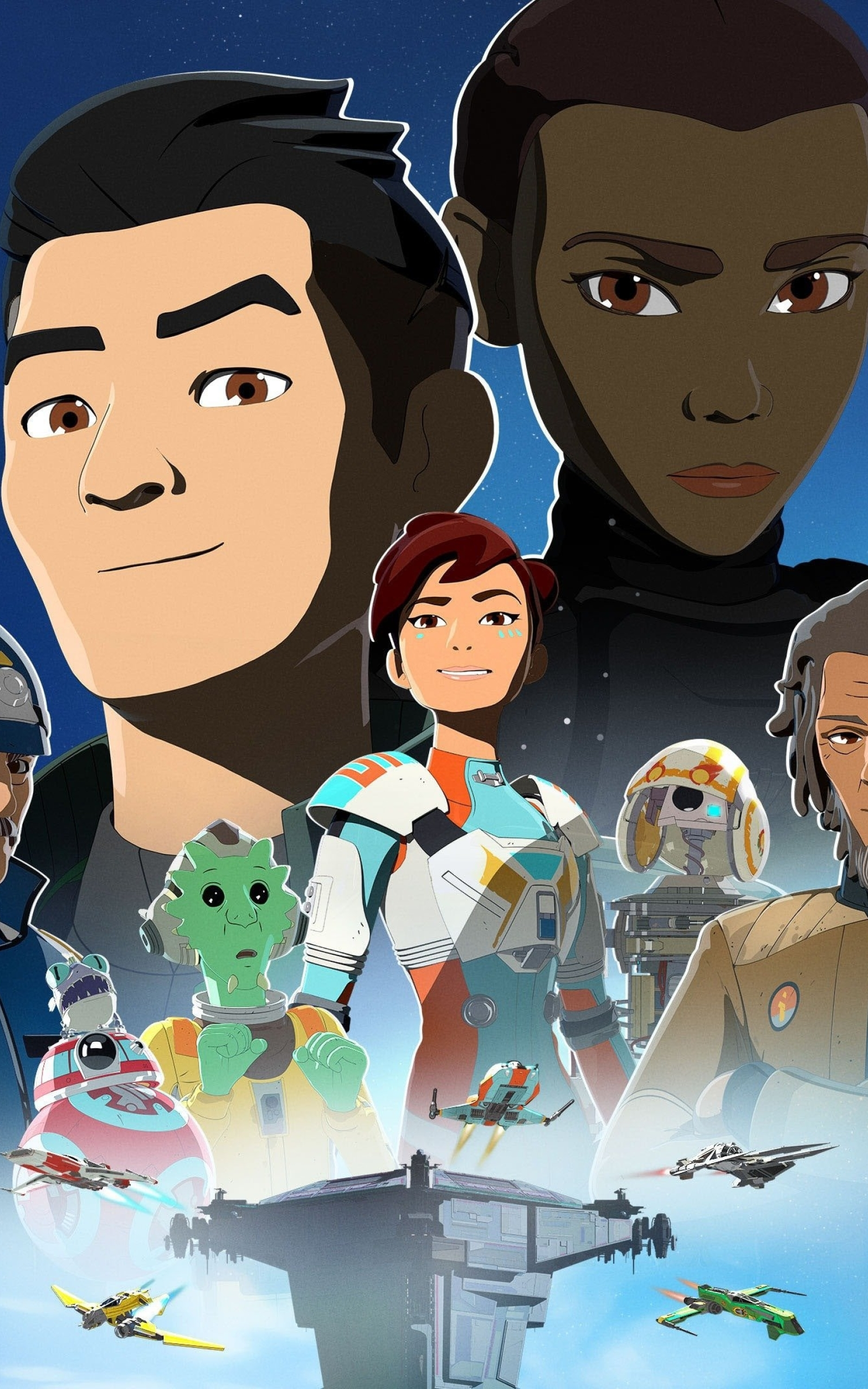 1600x2560 Star Wars Resistance 1600x2560 Resolution Wallpaper Hd Tv Series 4k Wallpapers Images Photos And Background