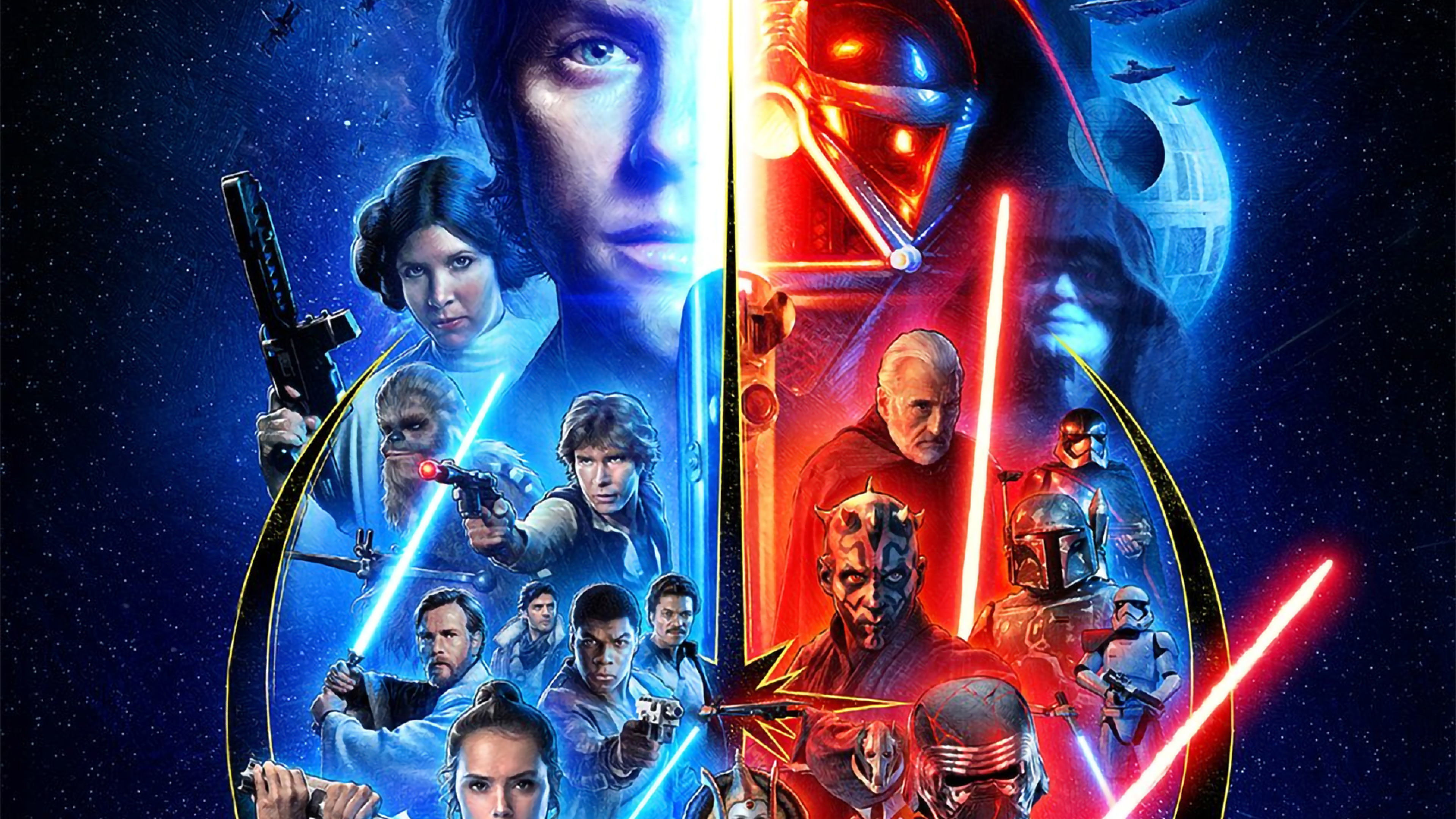3840x2160 Star Wars Skywalker Saga 4k Wallpaper Hd Movies 4k Wallpapers Images Photos And Background