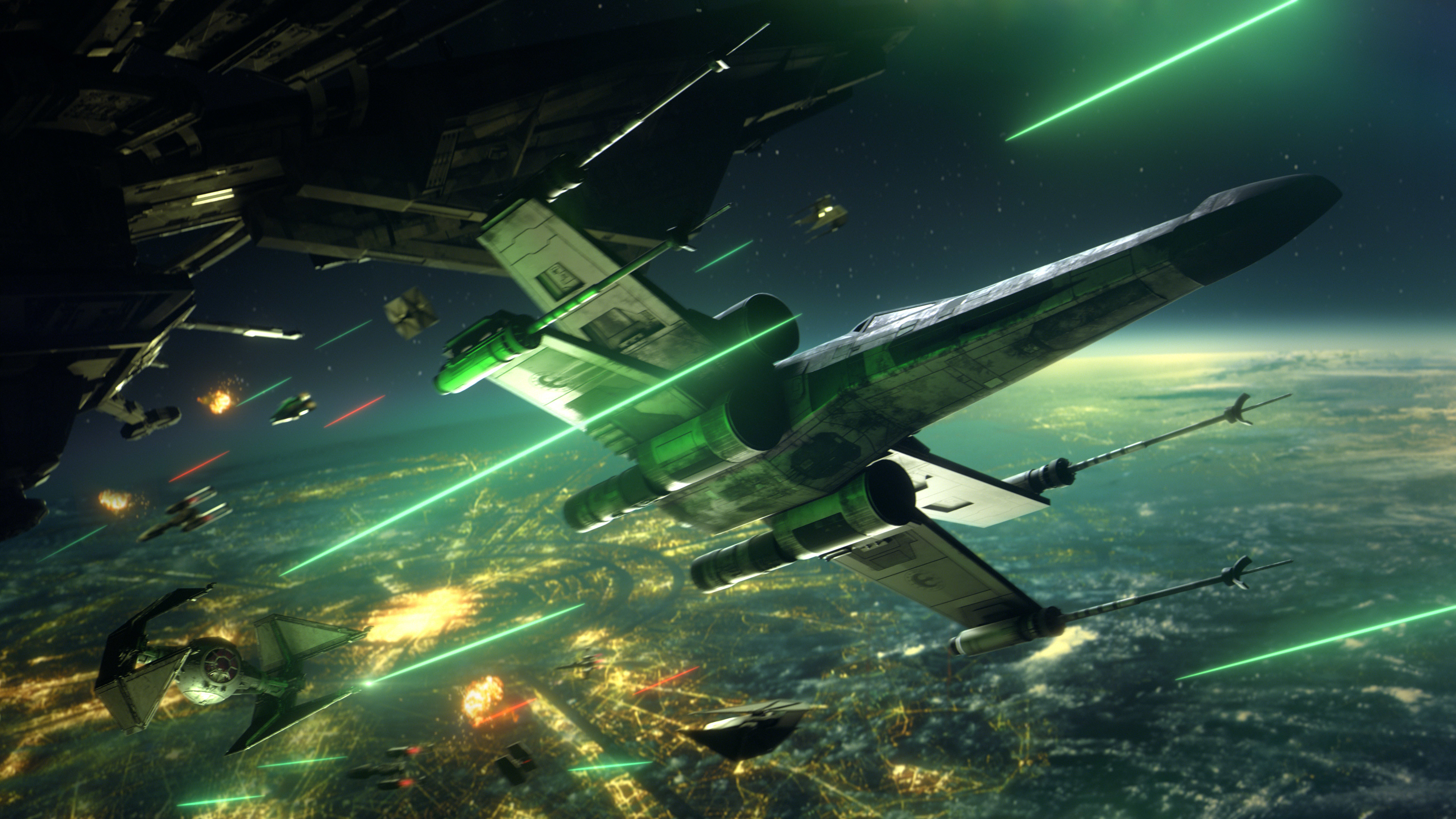 Star Wars Squadrons Space War Wallpaper Hd Games 4k Wallpapers Images Photos And Background
