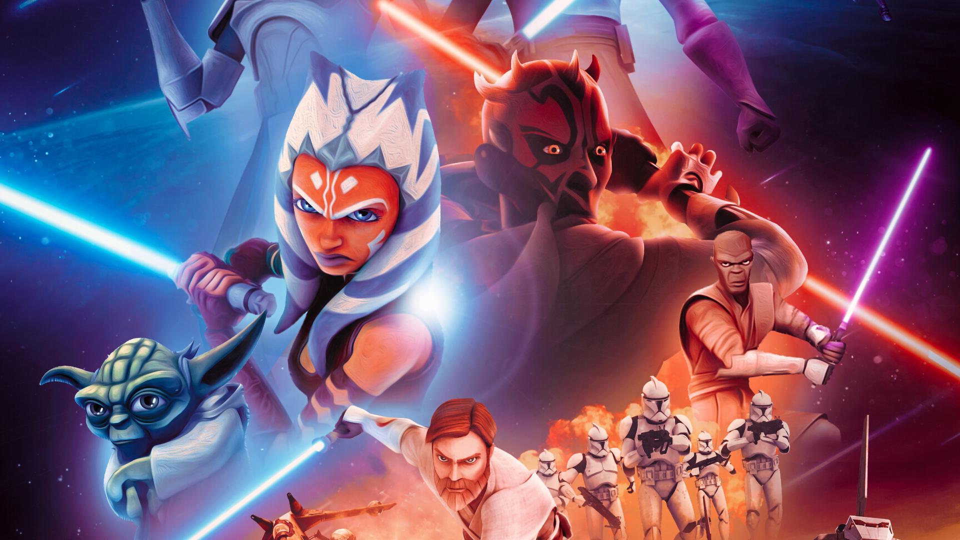 star wars the clone wars 4k a25pZWaUmZqaraWkpJRmbmdlrWZlbWU