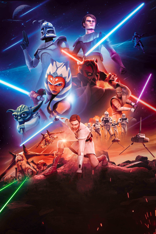 star wars the clone wars 4k wallpaper hd tv series 4k