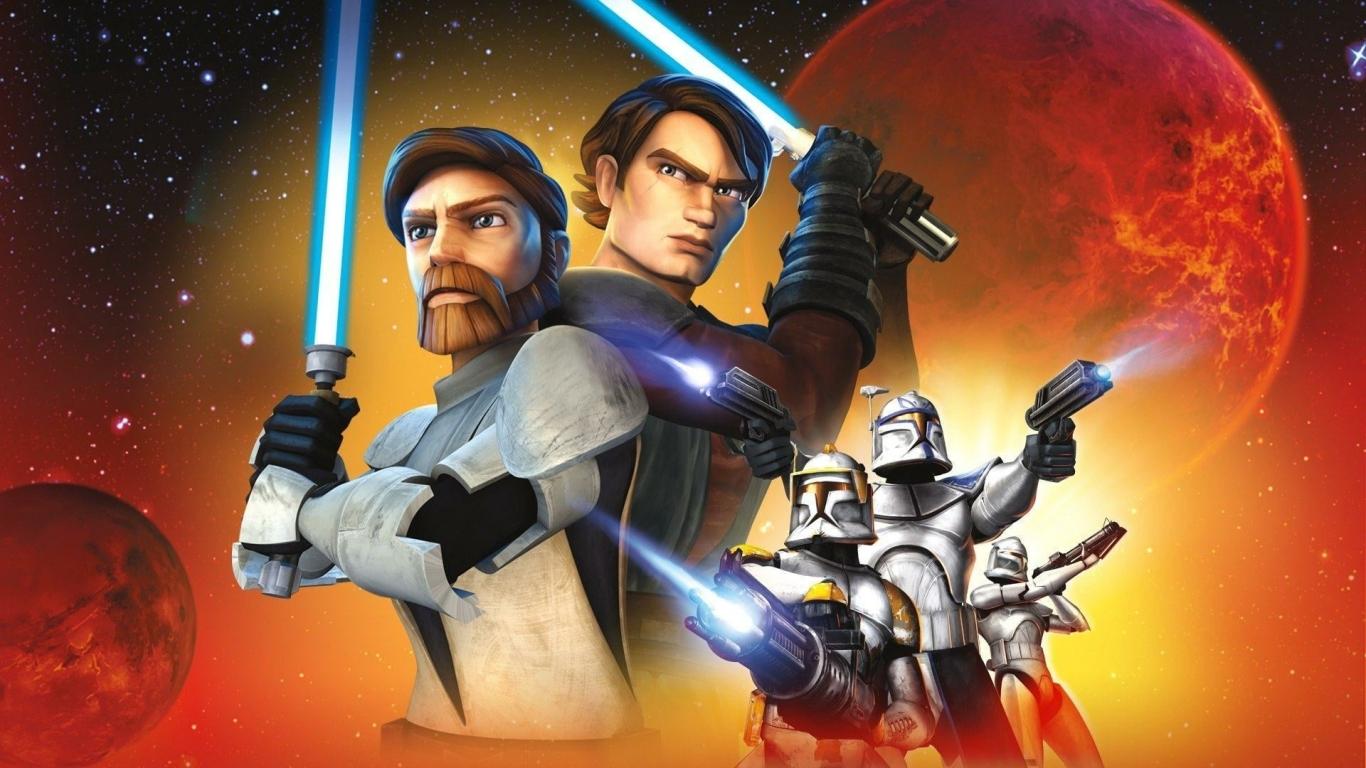 1366x768 star wars the clone wars season 7 1366x768