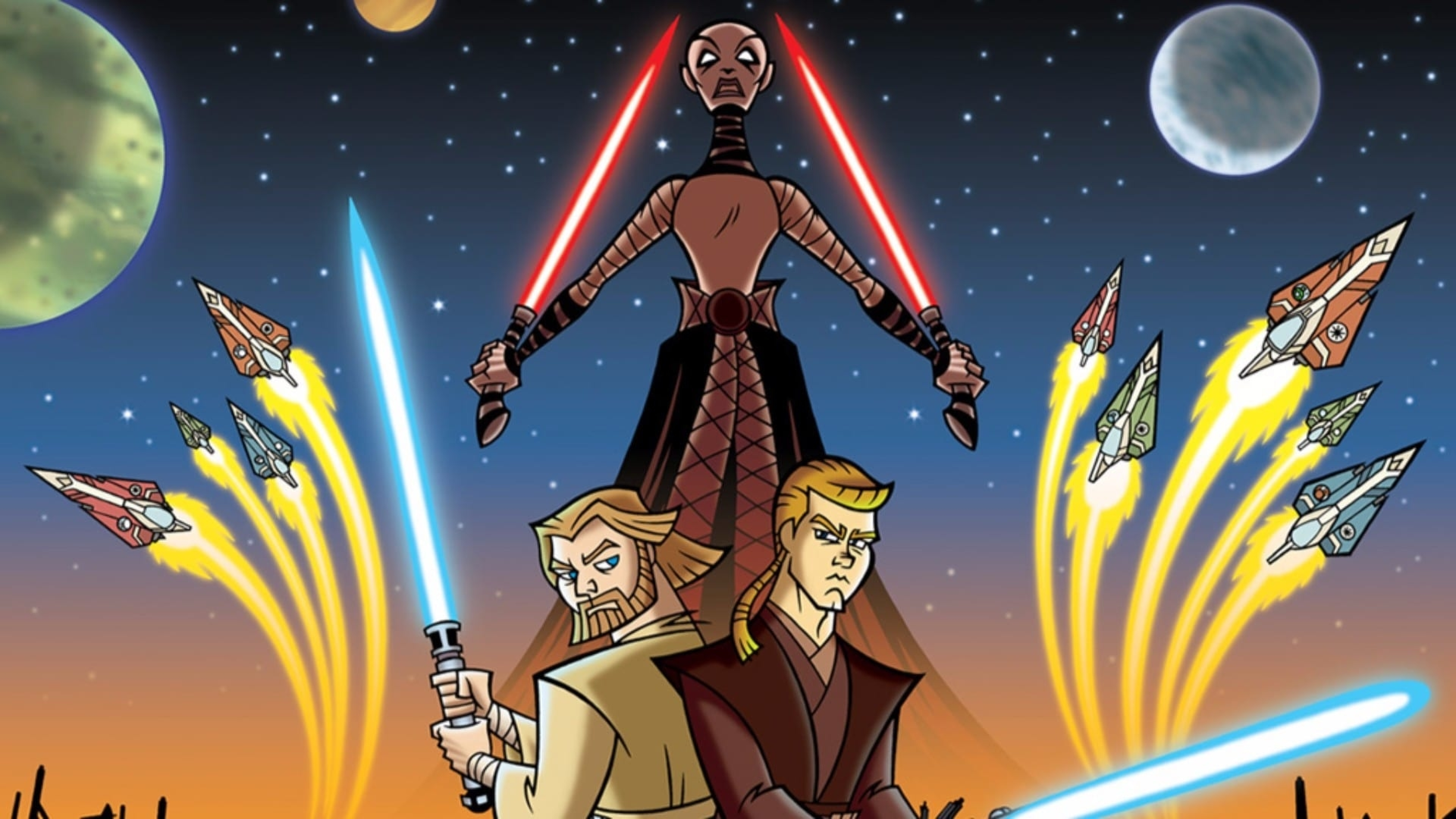 star wars the clone wars tv