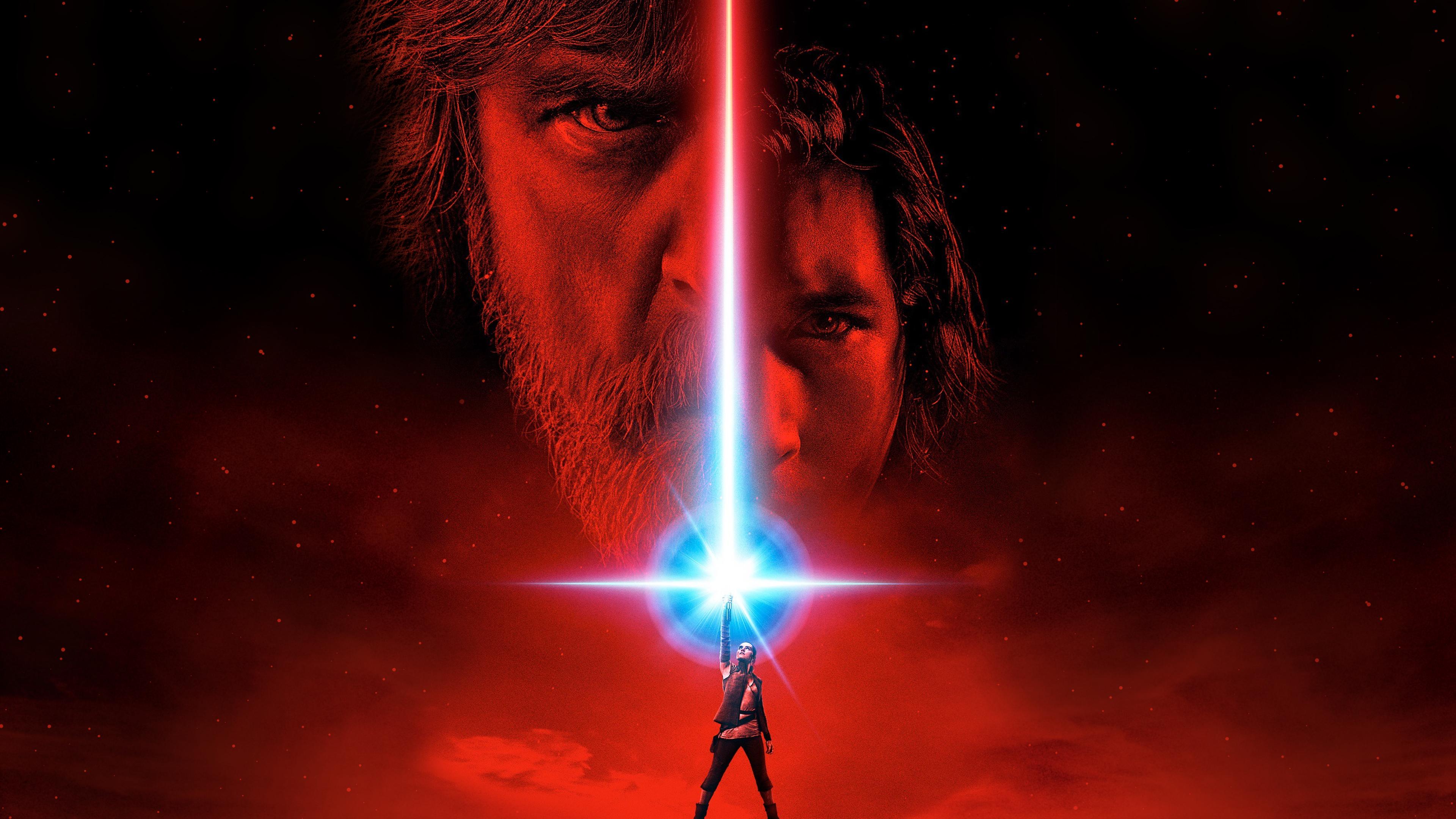 Star Wars The Last Jedi Movie Poster Wallpaper Hd Movies 4k