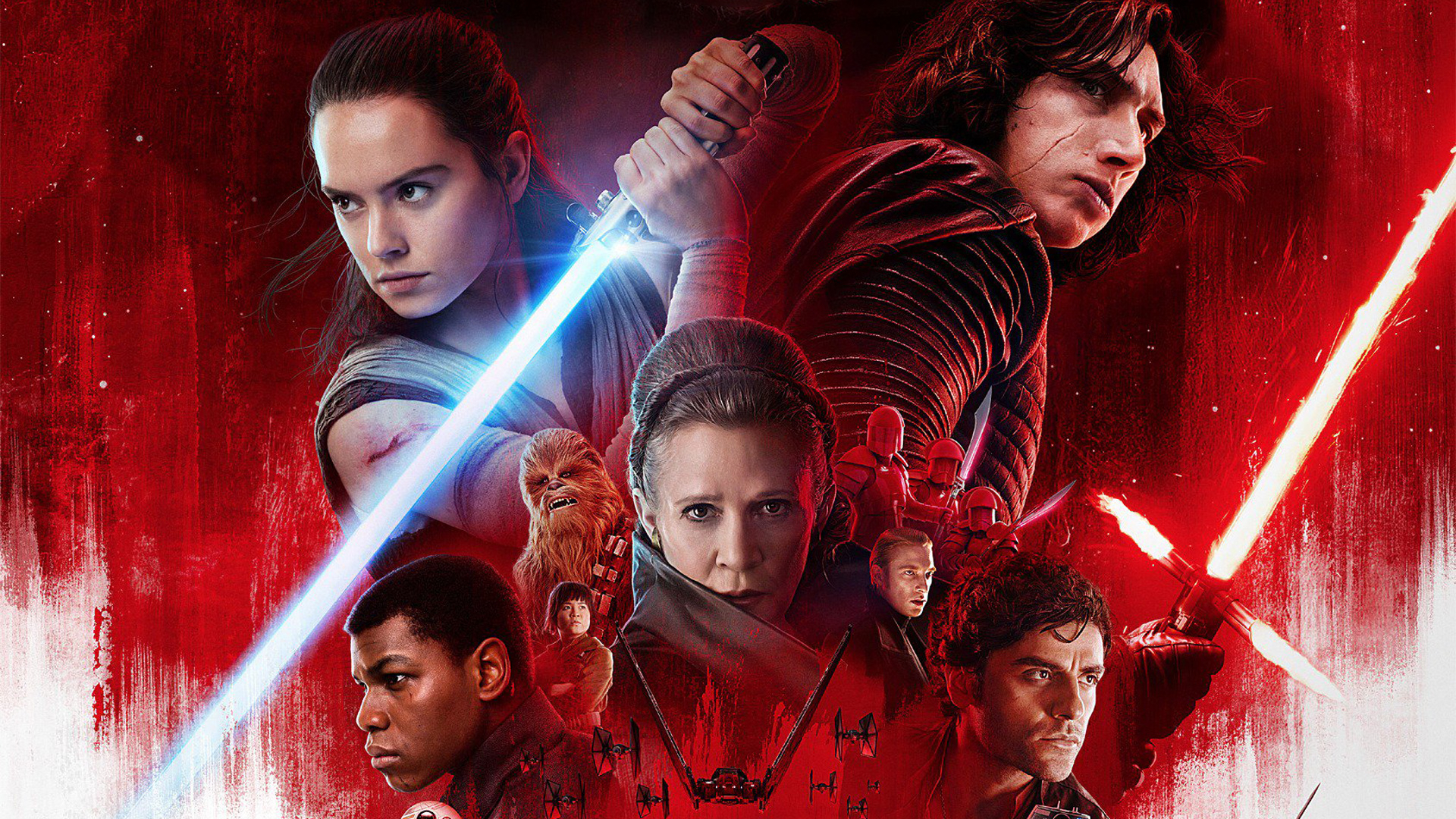 1920x1080 Star Wars The Last Jedi Poster 1080p Laptop Full Hd Wallpaper Hd Movies 4k Wallpapers Images Photos And Background