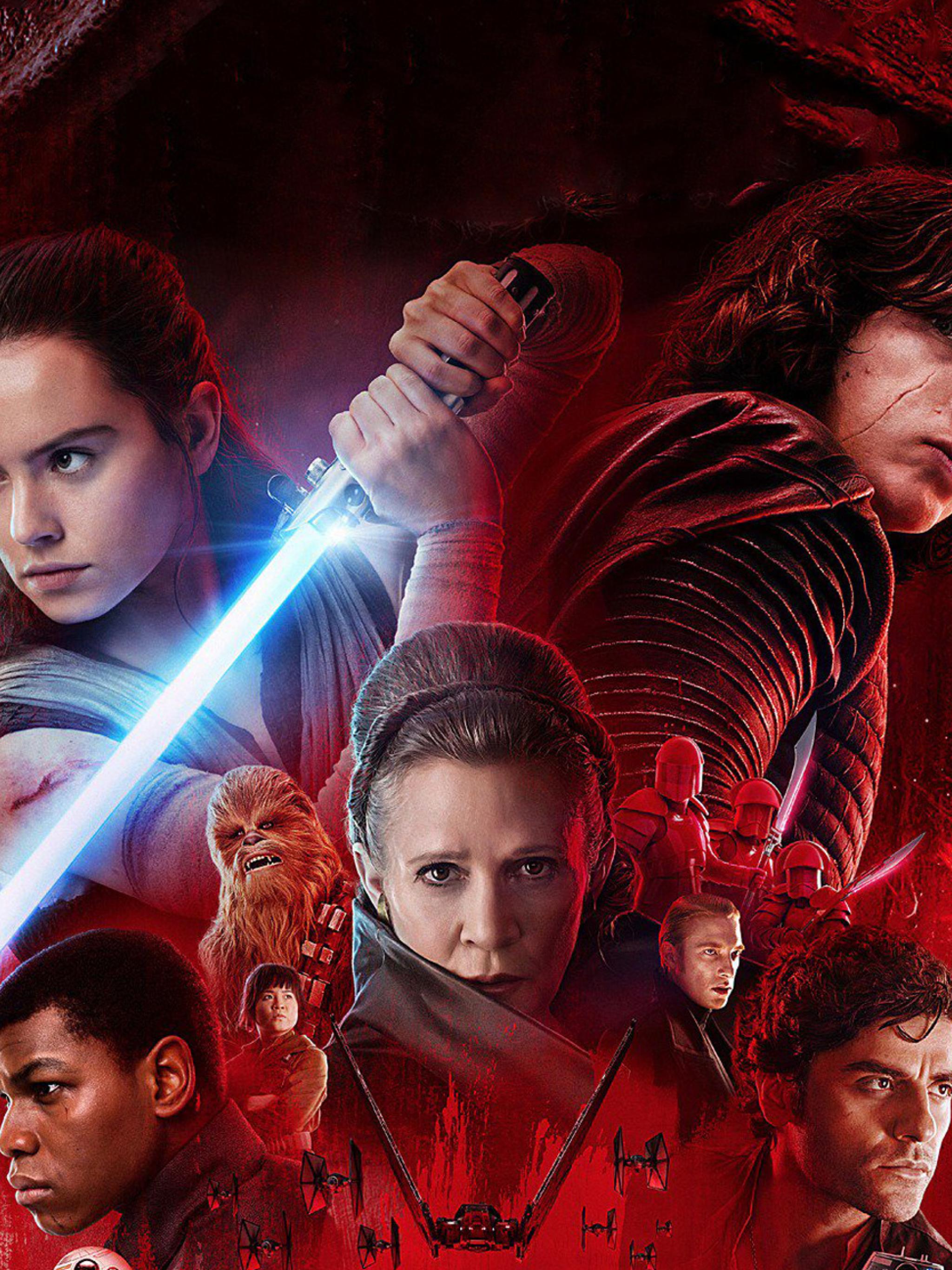 2048x2732 Star Wars The Last Jedi Poster 2048x2732 Resolution