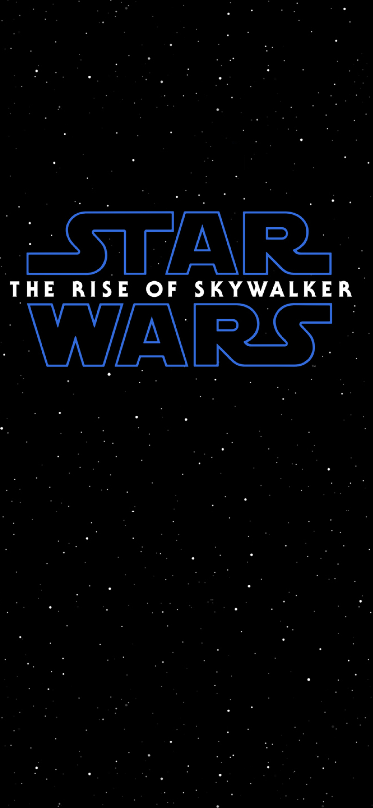 1242x2688 Star Wars The Rise Of Skywalker Poster Iphone Xs