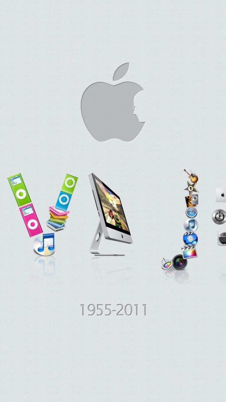 720x1280 Steve Jobs Apple Mac Moto G X Xperia Z1 Z3