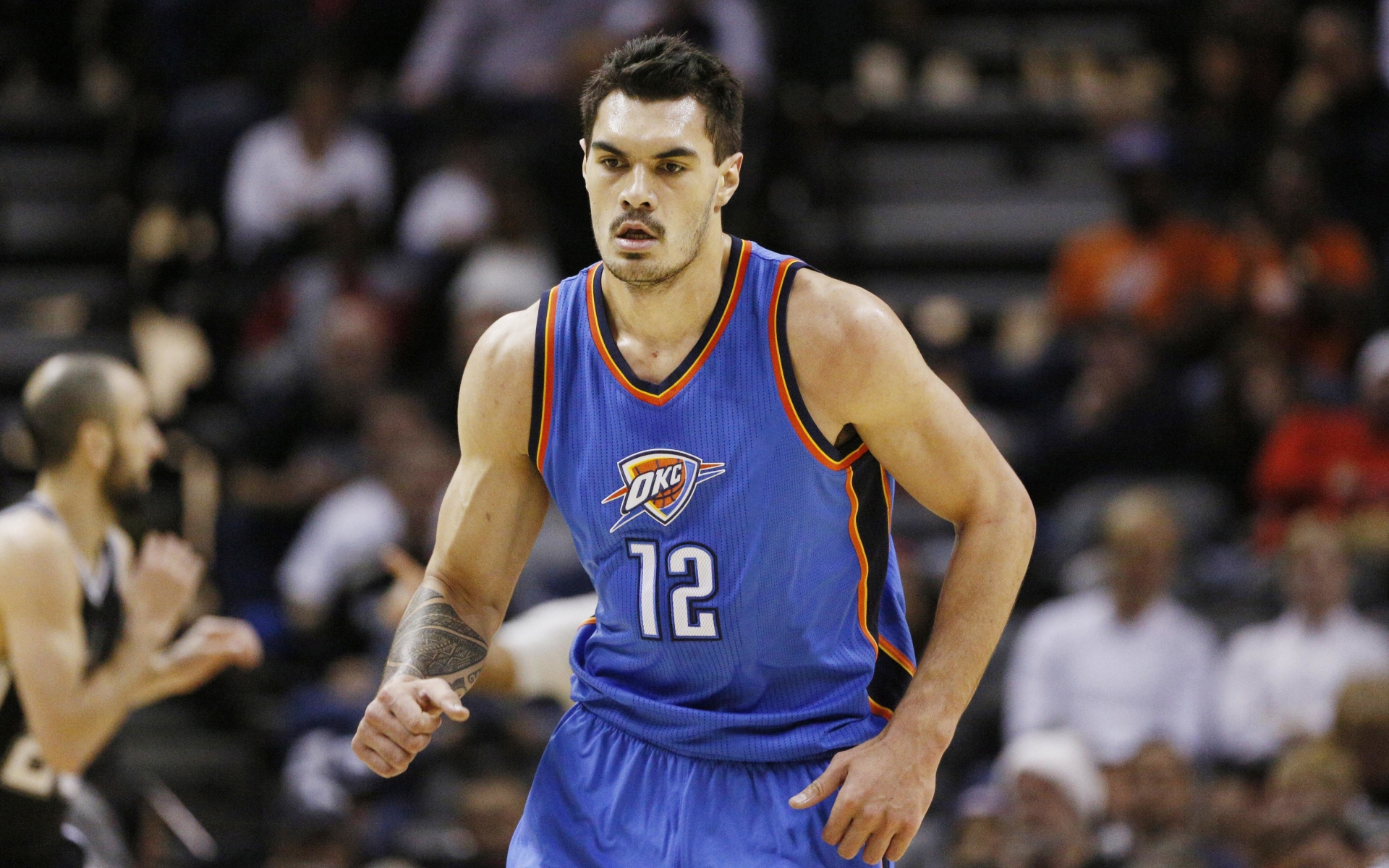 1920x1200 Steven Adams Basketball Oklahoma City Thunder 1200p