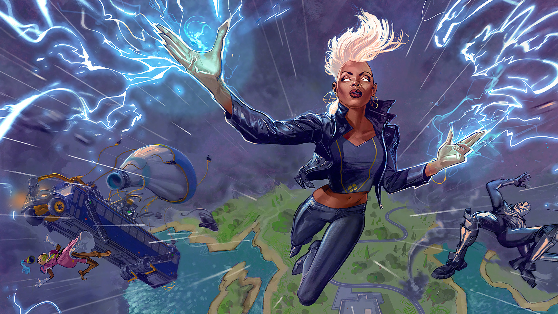 Storm Cool Fortnite Chapter 2 Wallpaper Hd Games 4k Wallpapers Images Photos And Background