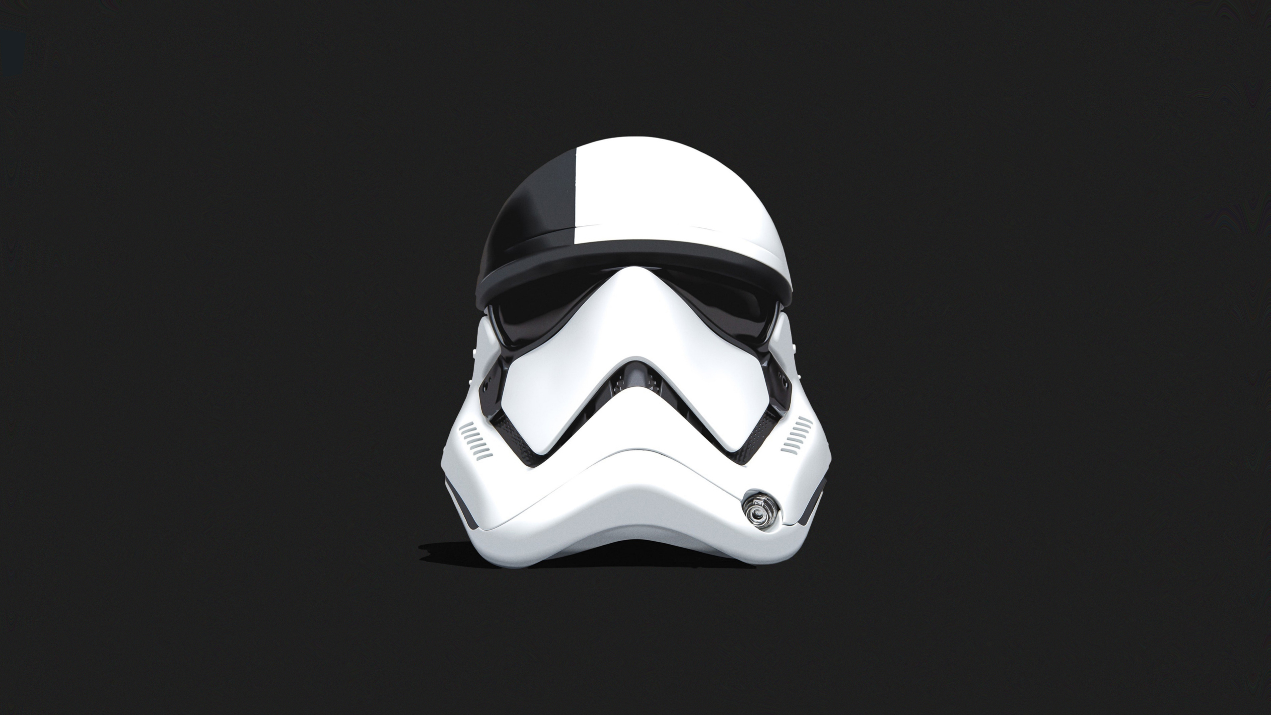 2560x1440 Stormtrooper Helmet Star Wars