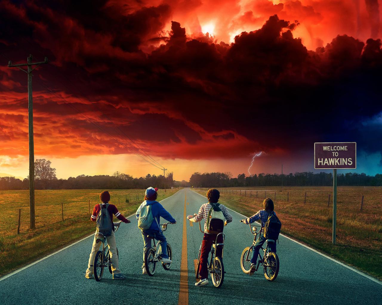 Stranger Things Season 2, Full HD 2K Wallpaper