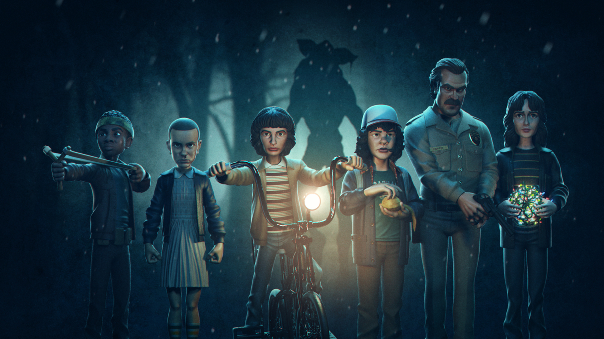1920x1080 Stranger Things Season 4 Artwork 1080p Laptop Full