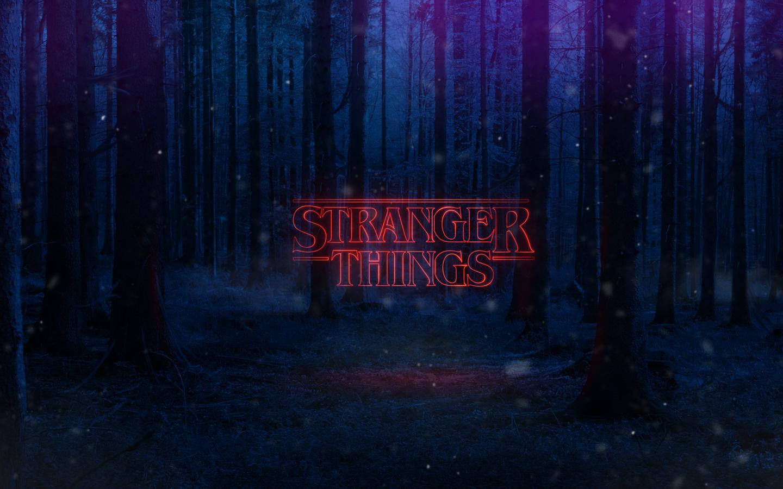 Stranger things text poster full hd wallpaper - Stranger things desktop wallpaper ...