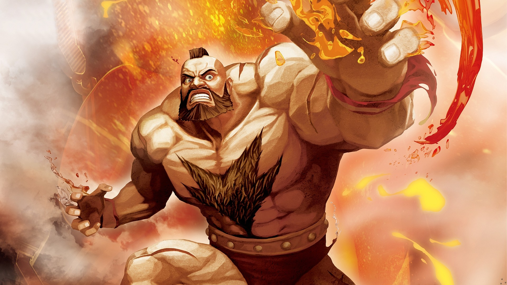 Street Fighter X Tekken Zangief Fighter Wallpaper Hd Games 4k