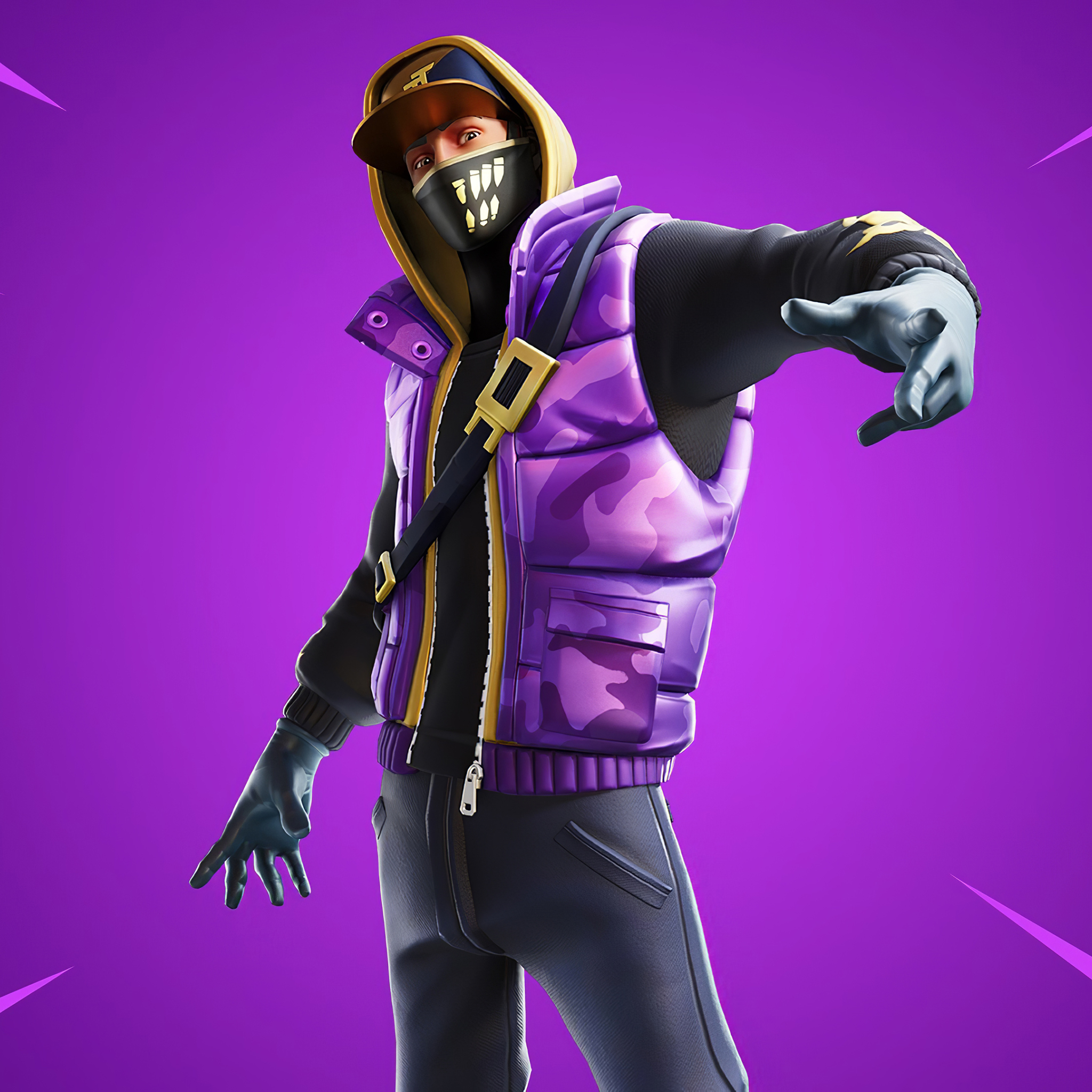 2048x2048 Street Striker 4k Skin From Fortnite Chapter 2 Ipad Air Wallpaper Hd Games 4k Wallpapers Images Photos And Background
