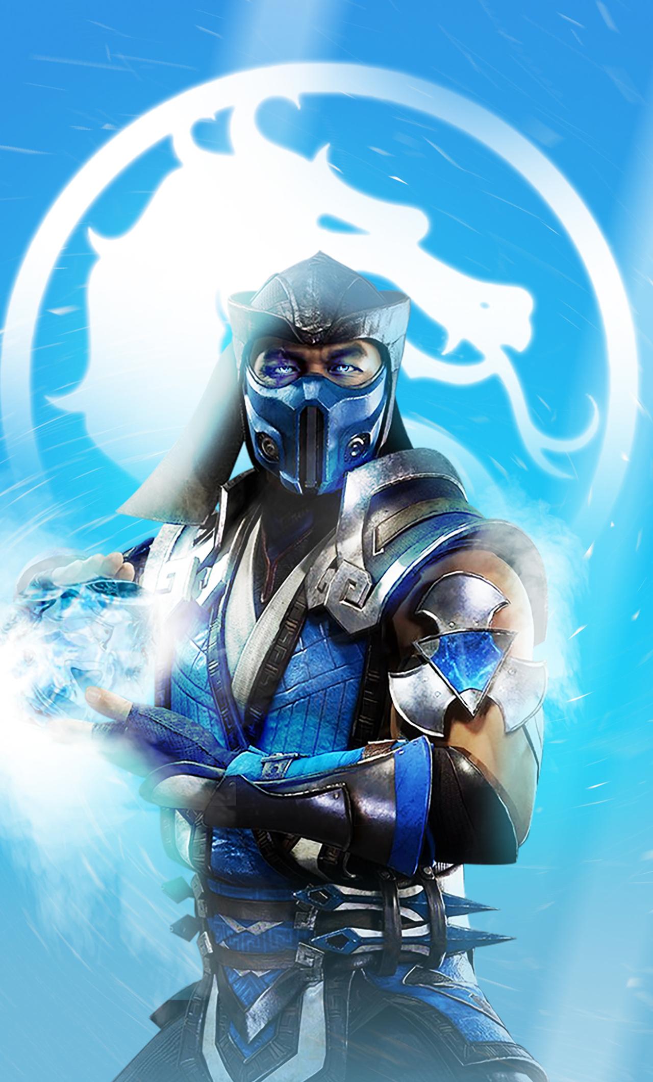 1280x2120 Sub-Zero Mortal Kombat 11 iPhone 6 plus ...