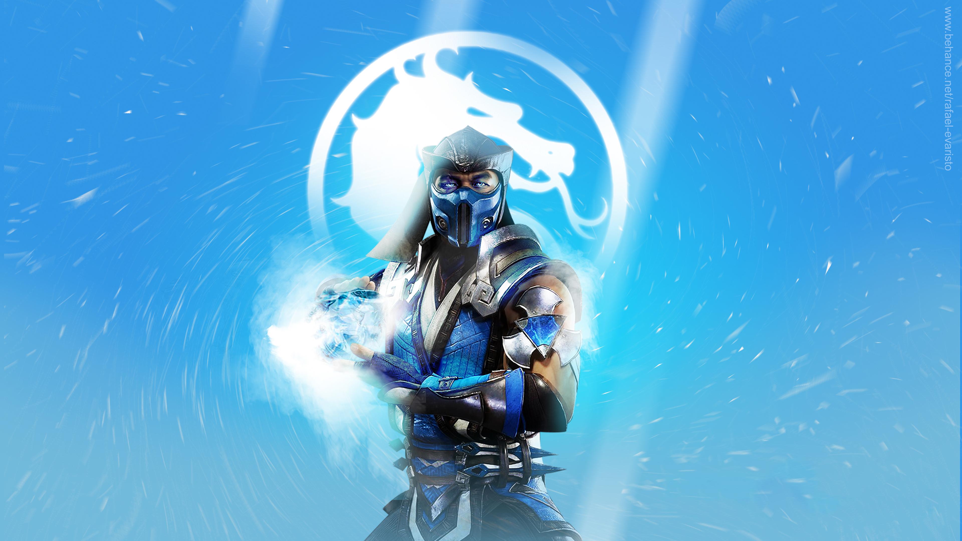 3840x2160 Sub Zero Mortal Kombat 11 4k Wallpaper Hd Games 4k