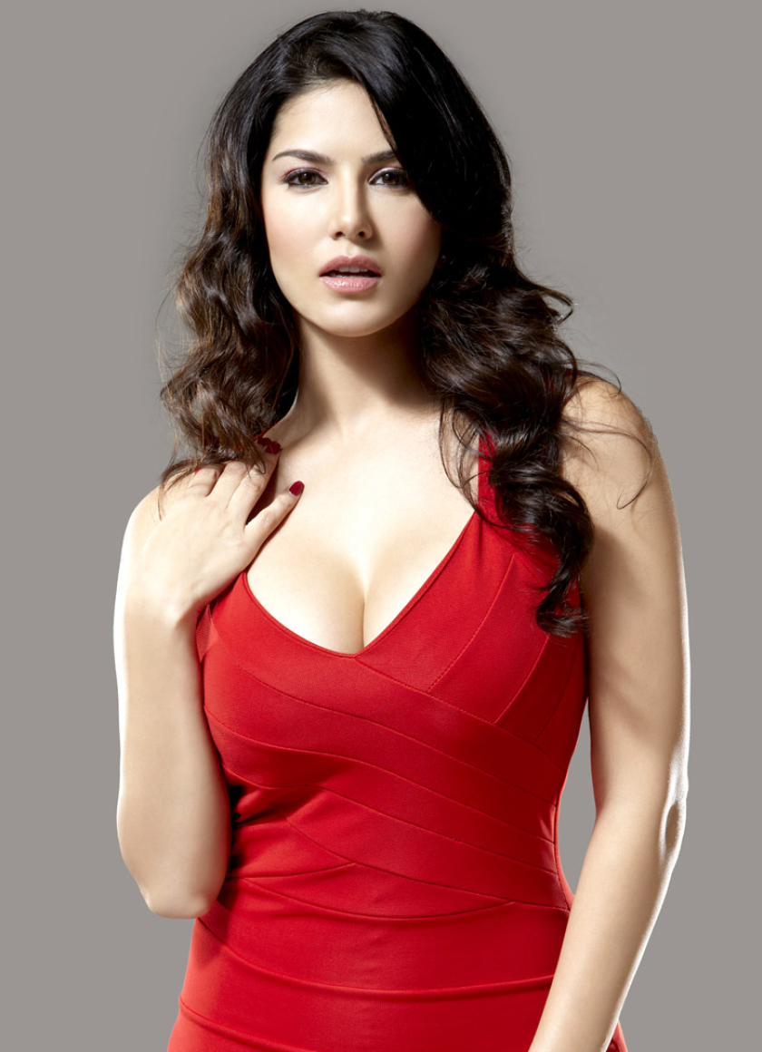 Download Sunny Leone In Red Dress Photoshoot 800X600 -9318