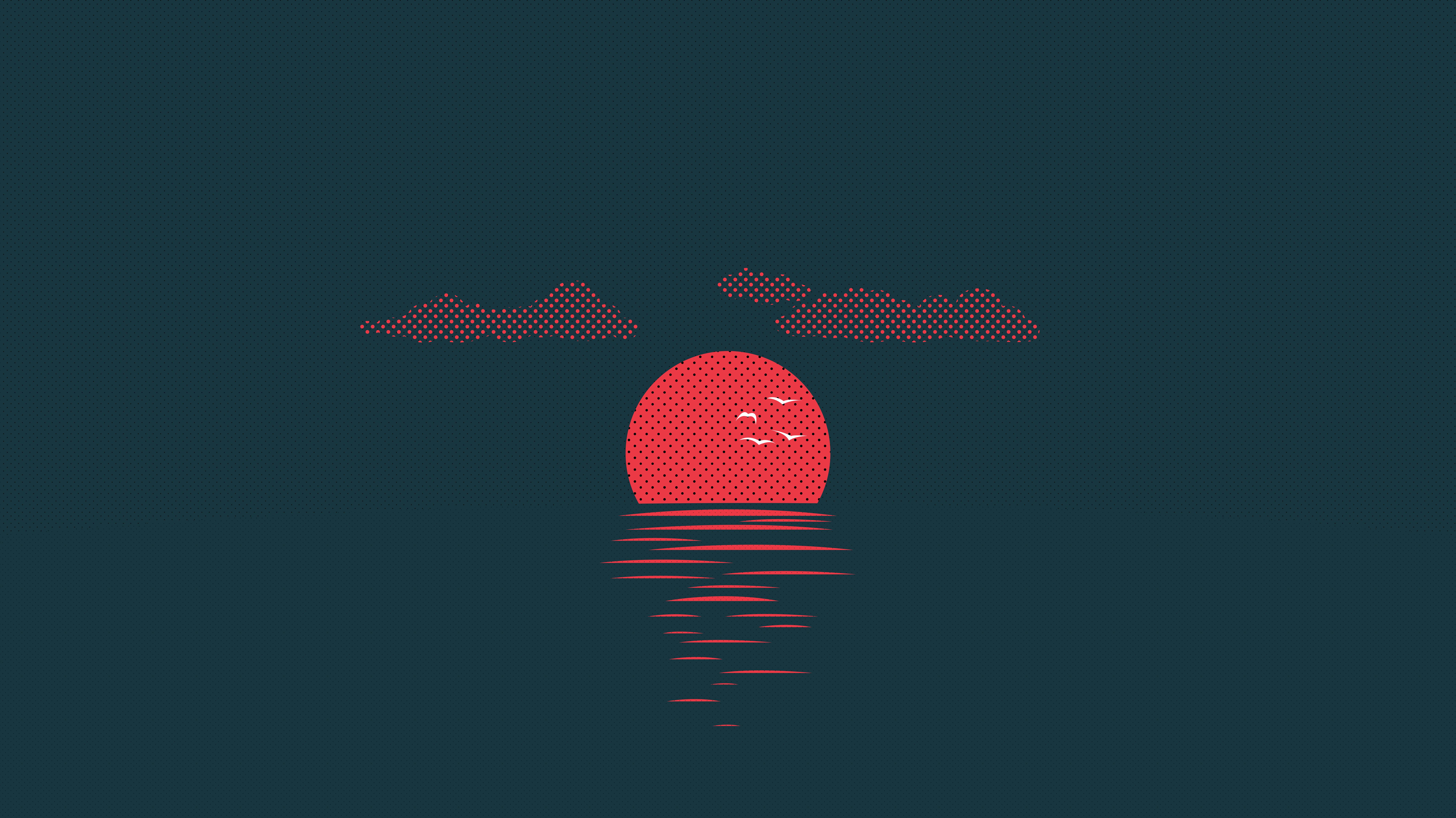 Sunset 8K 540x960 Resolution Wallpaper