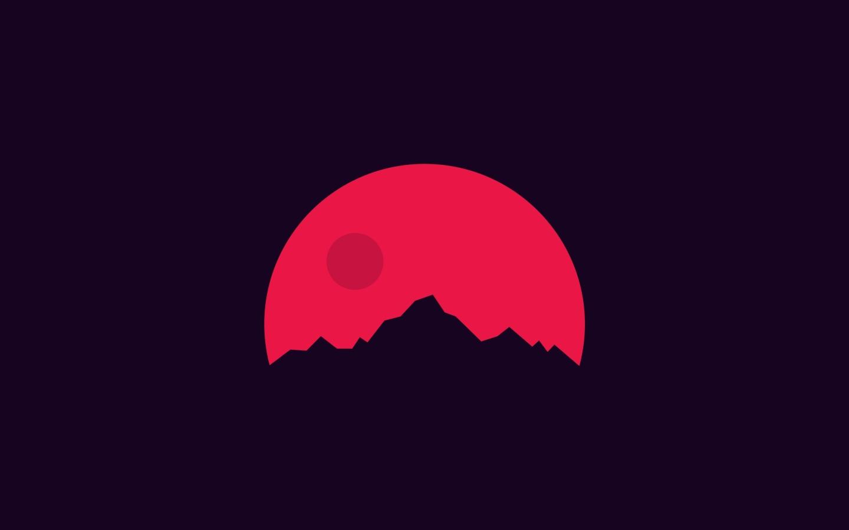 Download sunset in mars minimal 1280x720 resolution hd 4k - Mars sunset wallpaper ...