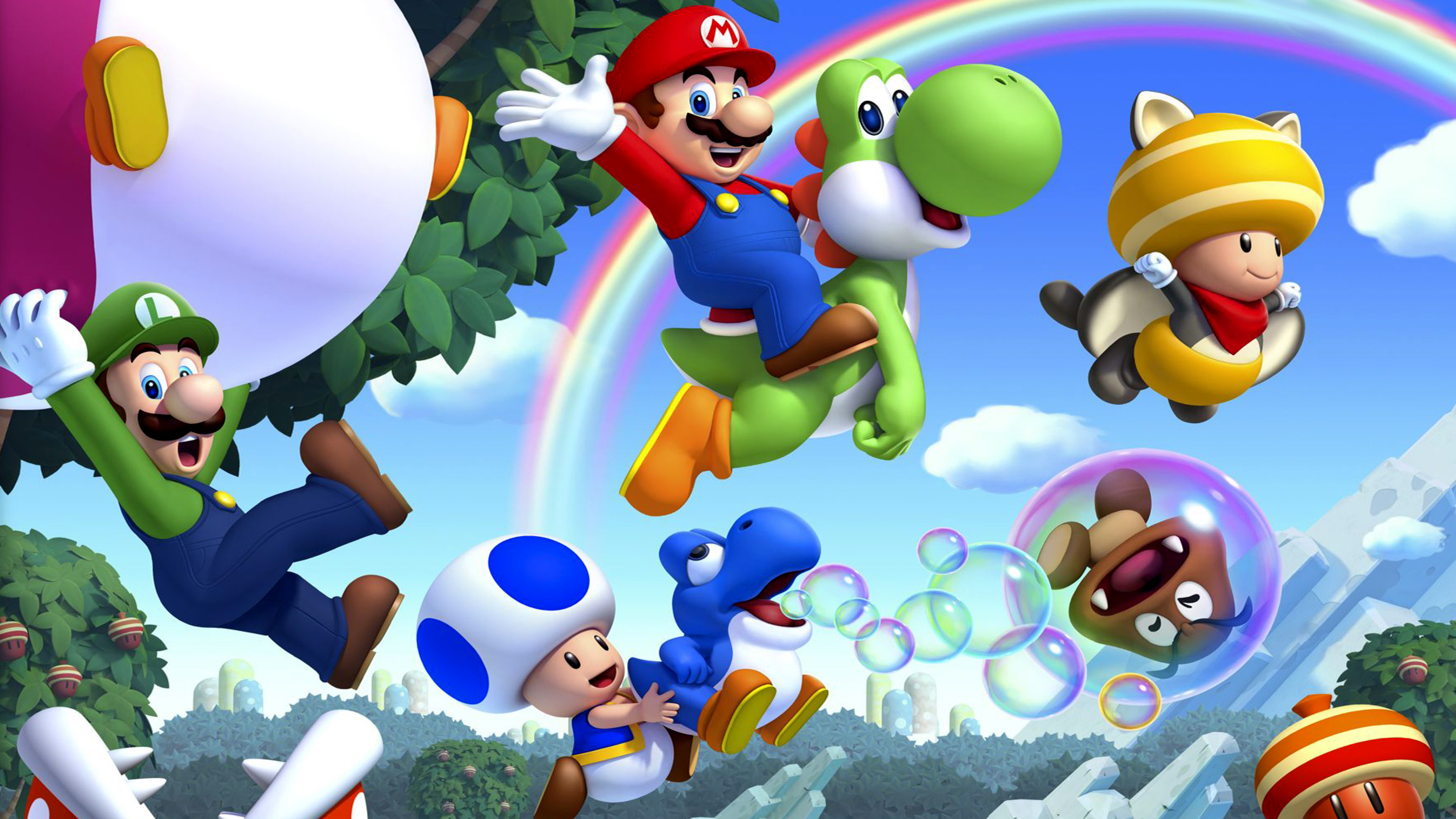 7680x4320 Super Mario Nintendo Wii U 8k Wallpaper Hd Games 4k Wallpapers Images Photos And Background