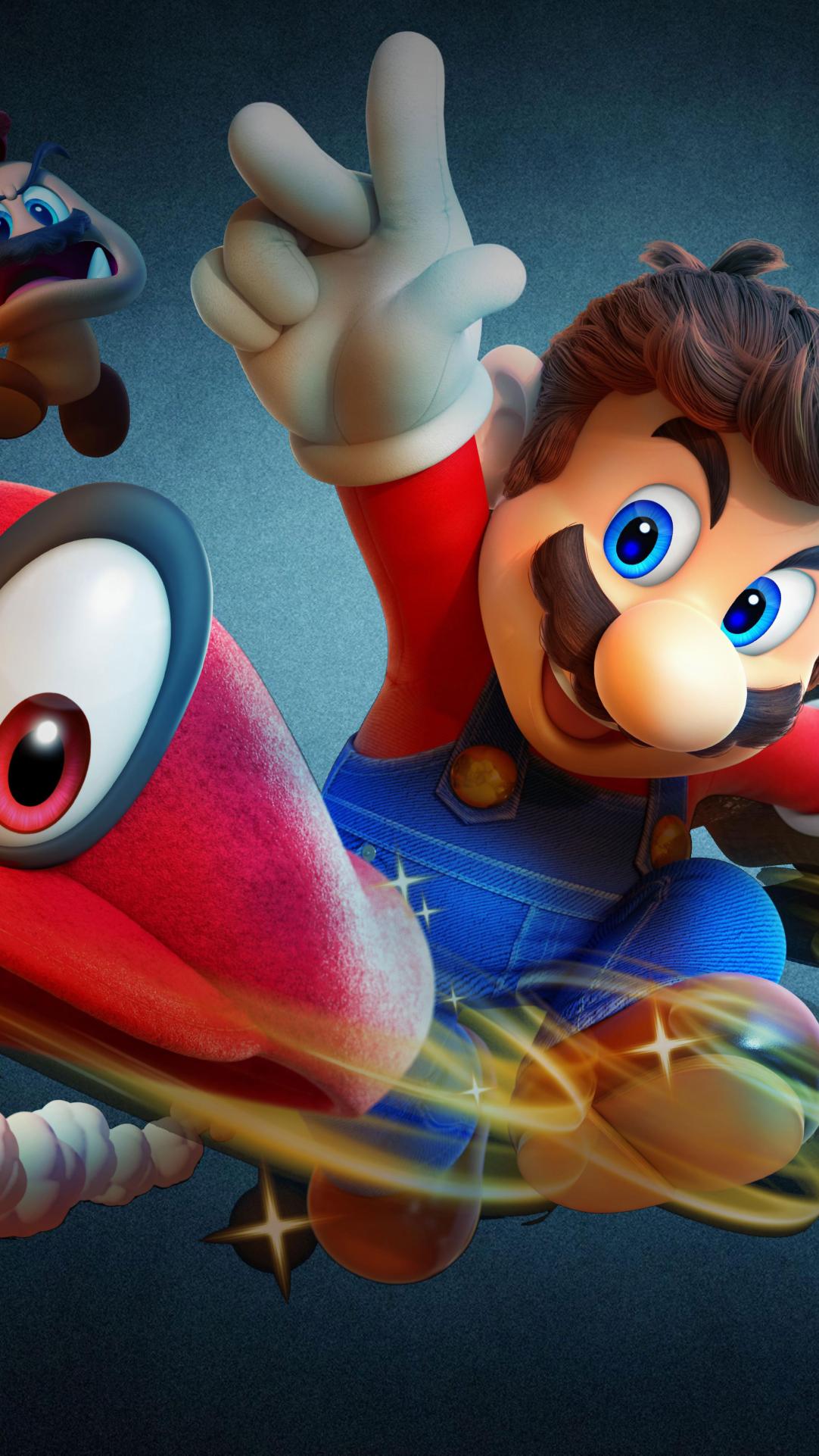 Super Mario Odyssey Wallpaper Hd Games 4k Wallpapers Images