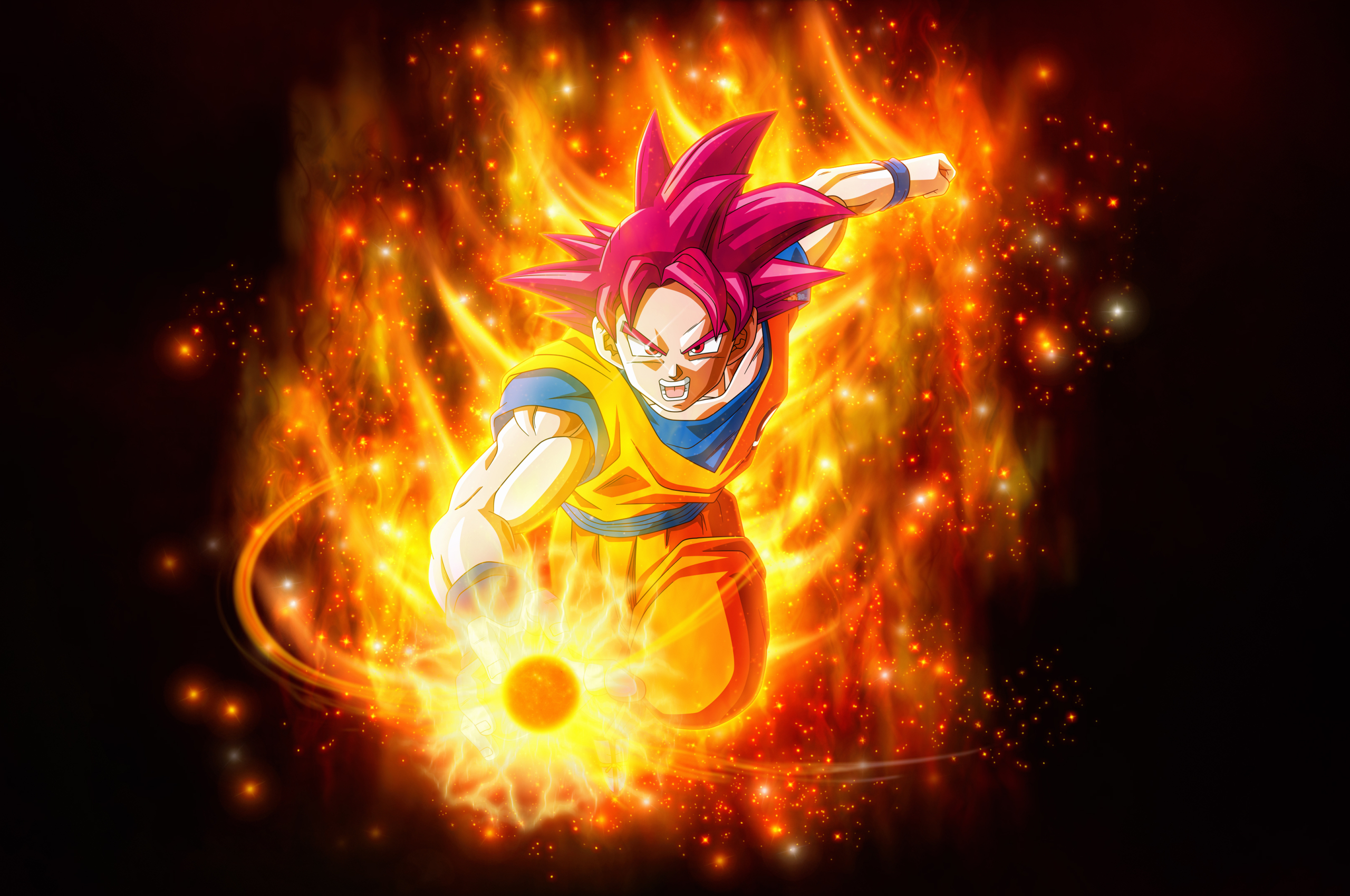 2560x1700 Super Saiyan God Dragon Ball Super Super Chromebook Pixel Wallpaper Hd Anime 4k Wallpapers Images Photos And Background