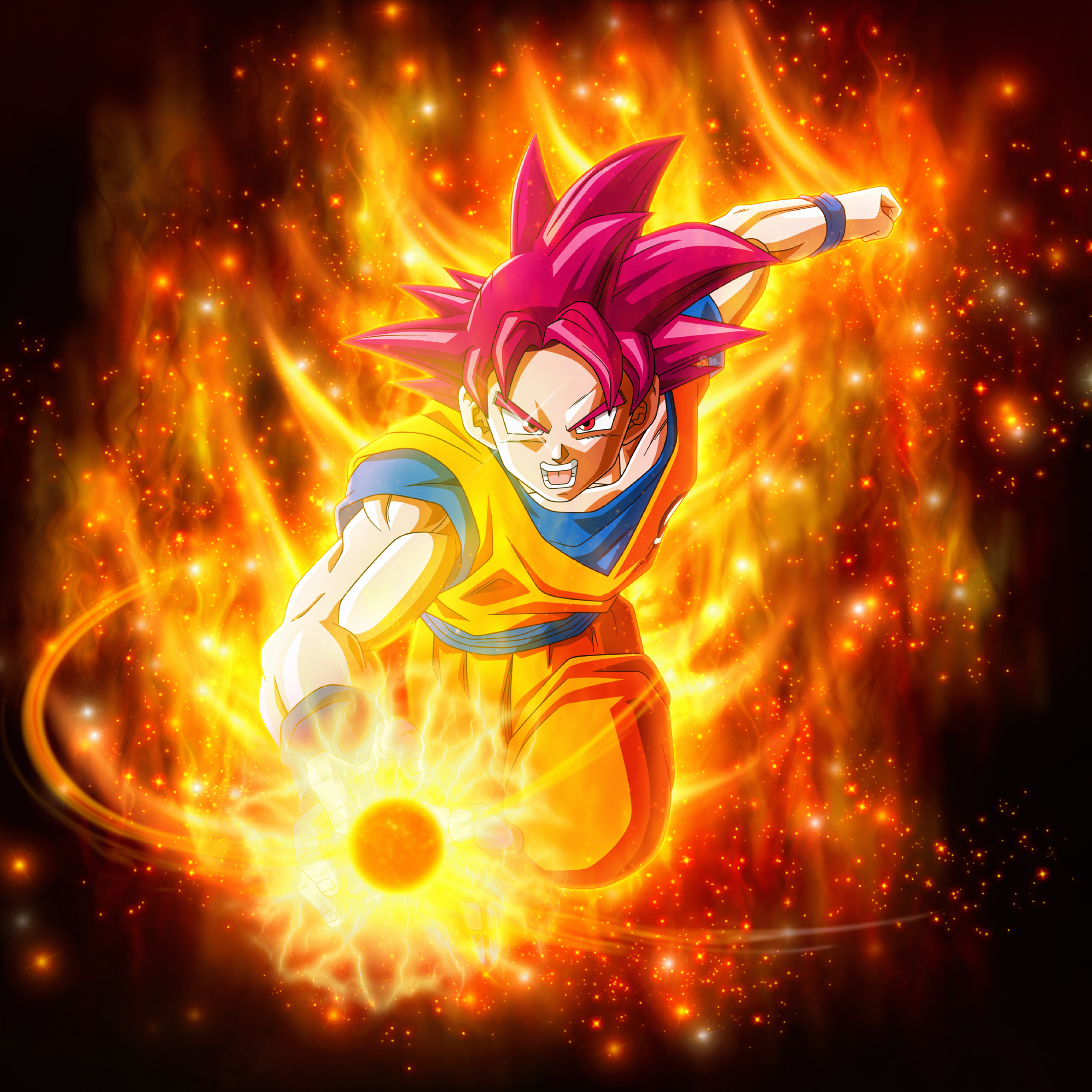 Super Saiyan God Dragon Ball Super Super, HD 4K Wallpaper