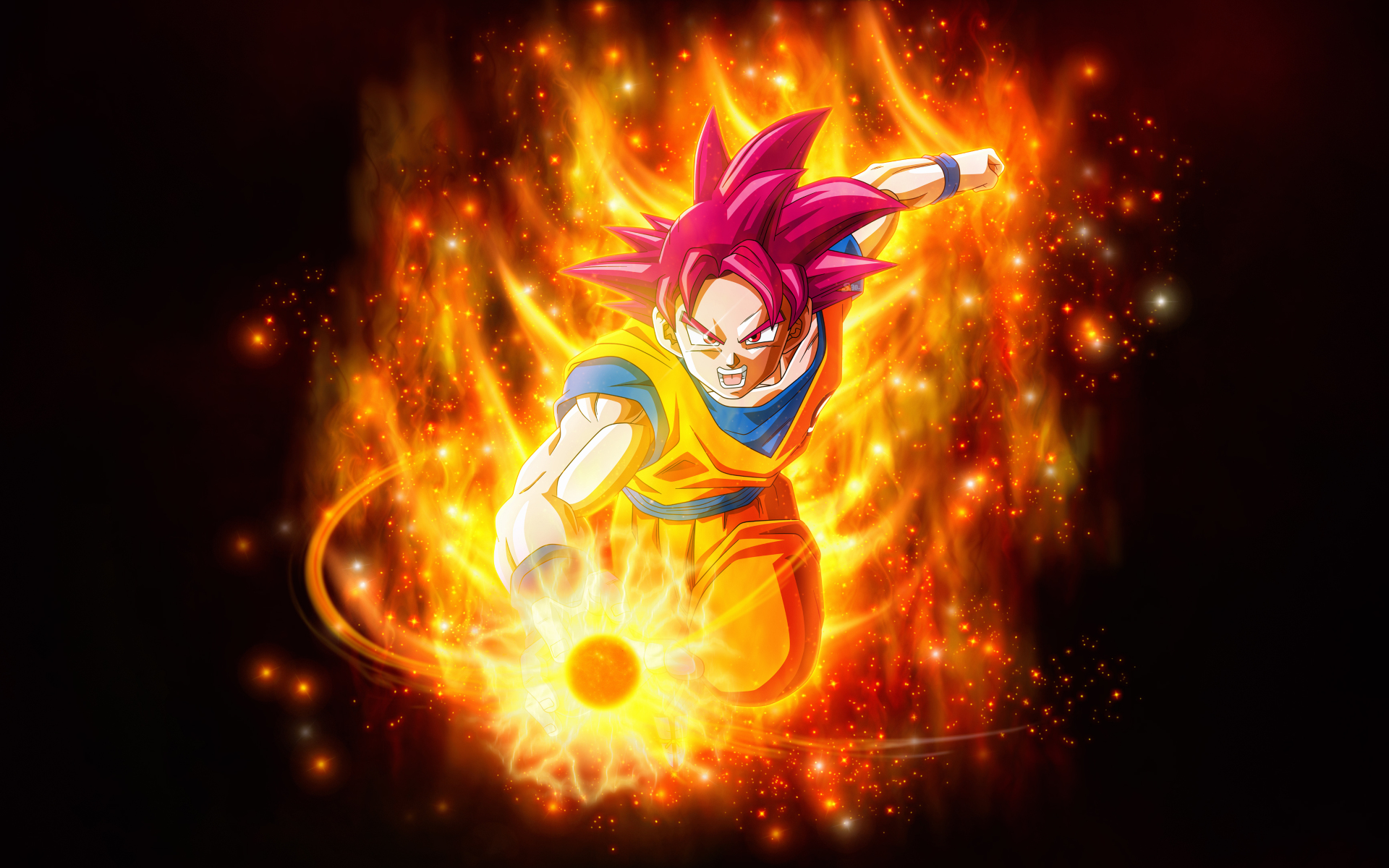 Super Saiyan God Goku Dragon Ball Hd 4k Wallpaper