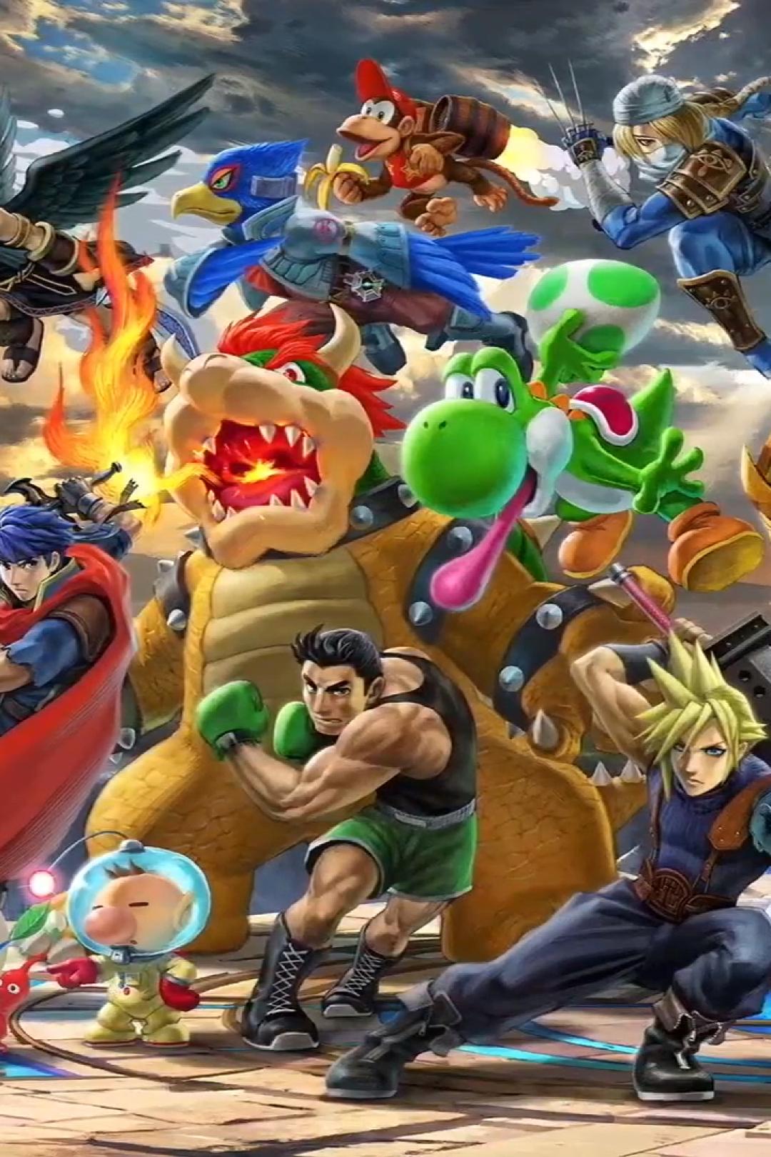 1080x1620 Super Smash Bros Ultimate 1080x1620 Resolution ...