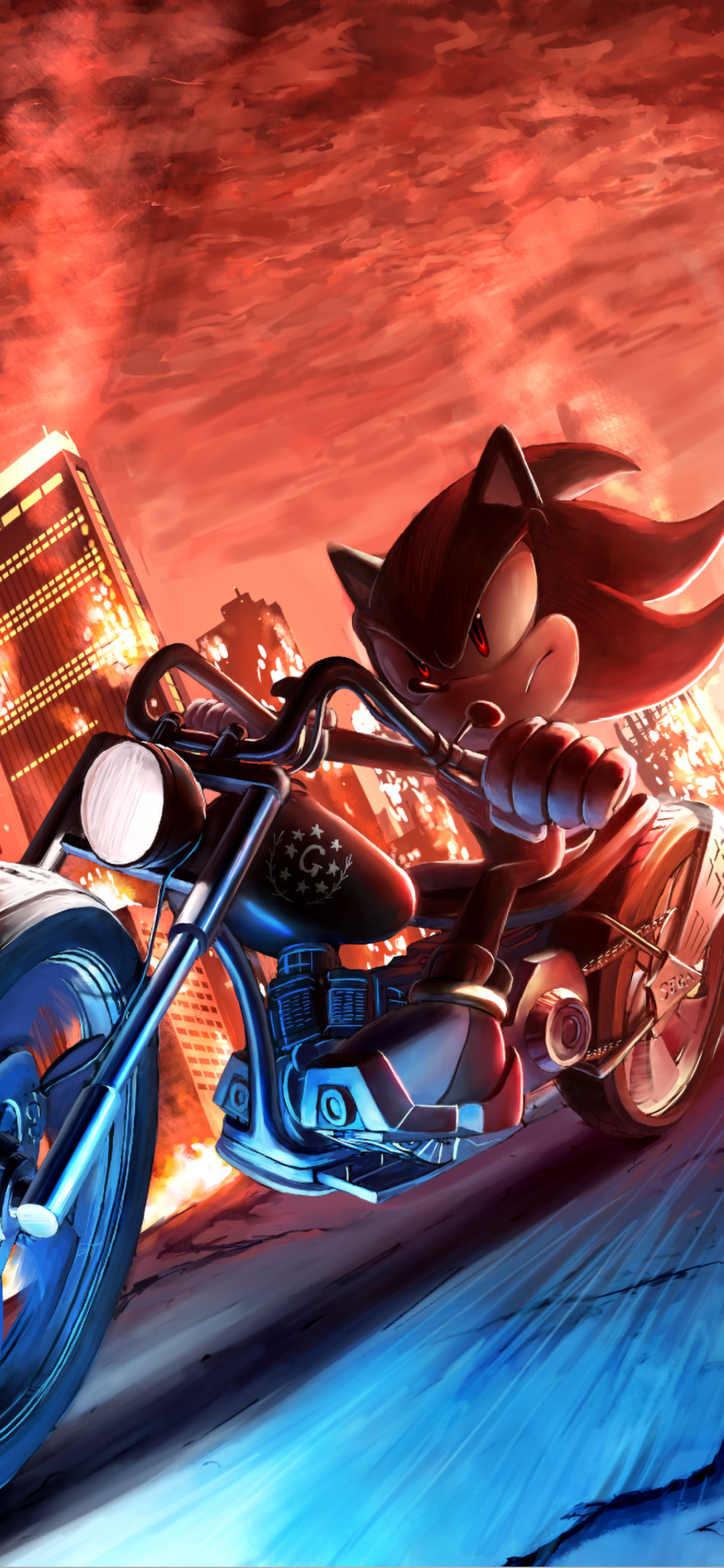 1080x2340 Super Sonic Hedgehog 4k 1080x2340 Resolution Wallpaper Hd Movies 4k Wallpapers Images Photos And Background