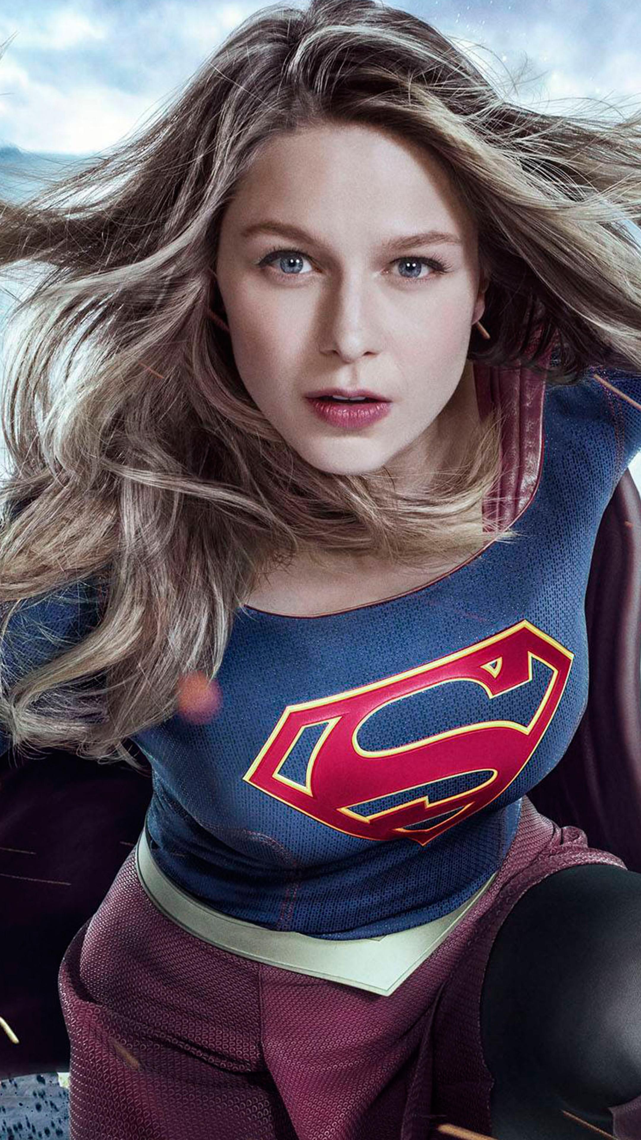 Supergirl Melissa Benoist Season 3 2017, HD 4K Wallpaper