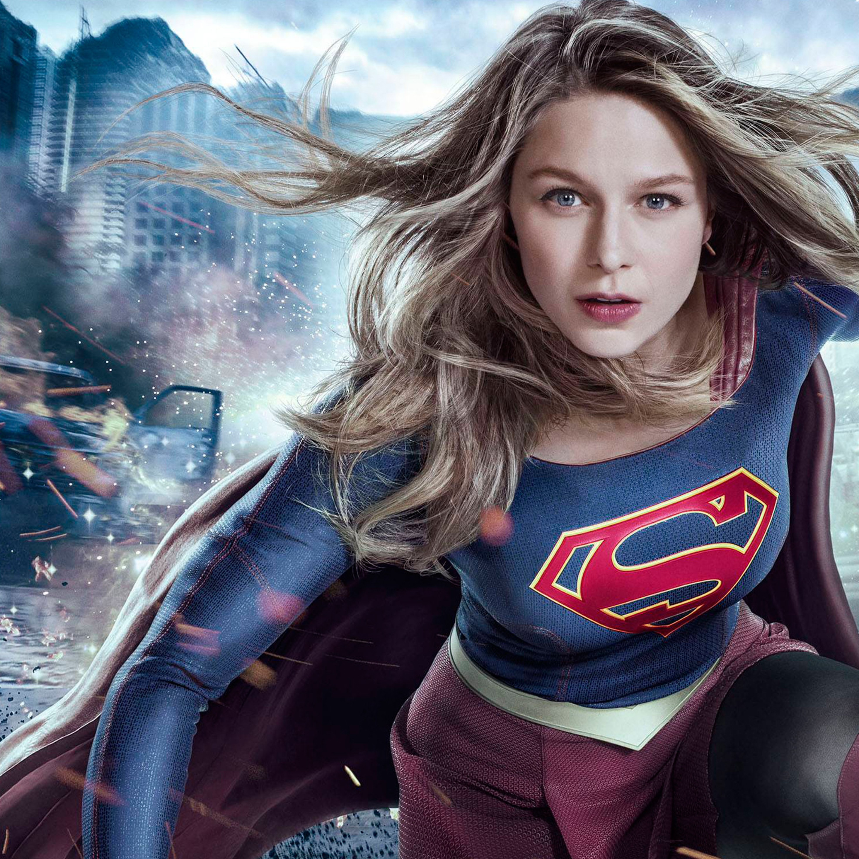 Lucifer Season 3 Hd 4k Wallpaper: Supergirl Melissa Benoist Season 3 2017, HD 4K Wallpaper