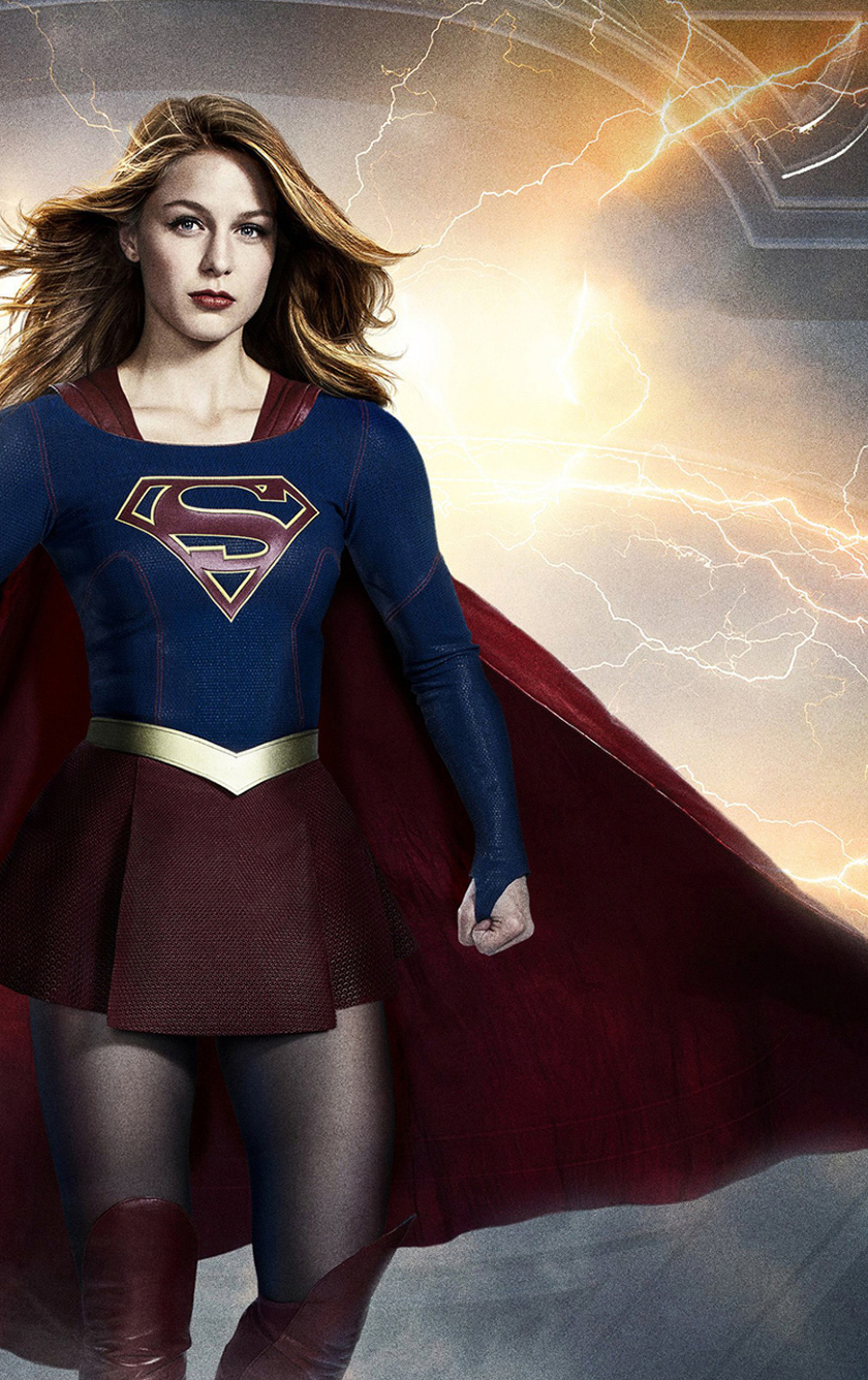 840x1336 Supergirl Season 3 Poster 840x1336 Resolution