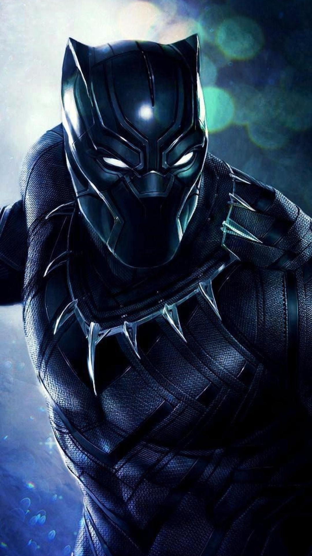 Superhero Black Panther, HD 8K Wallpaper