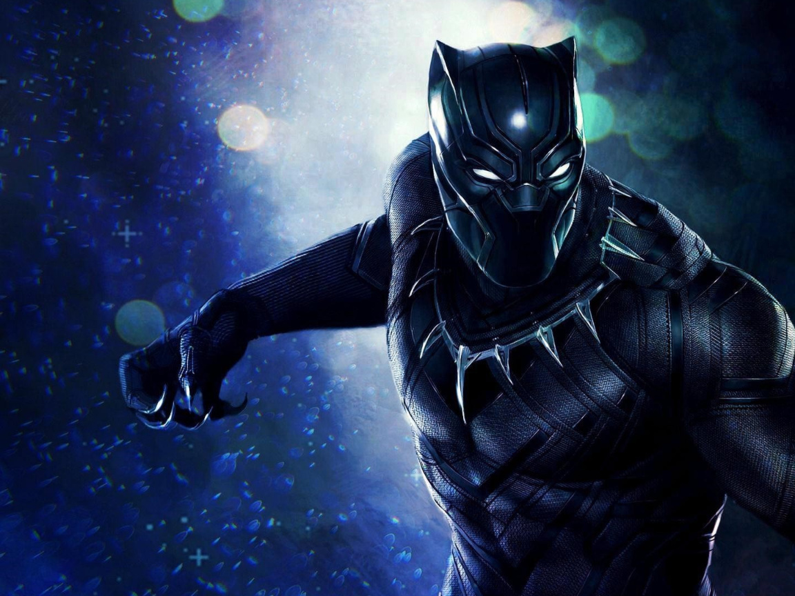 Superhero Black Panther  Hd 8k Wallpaper