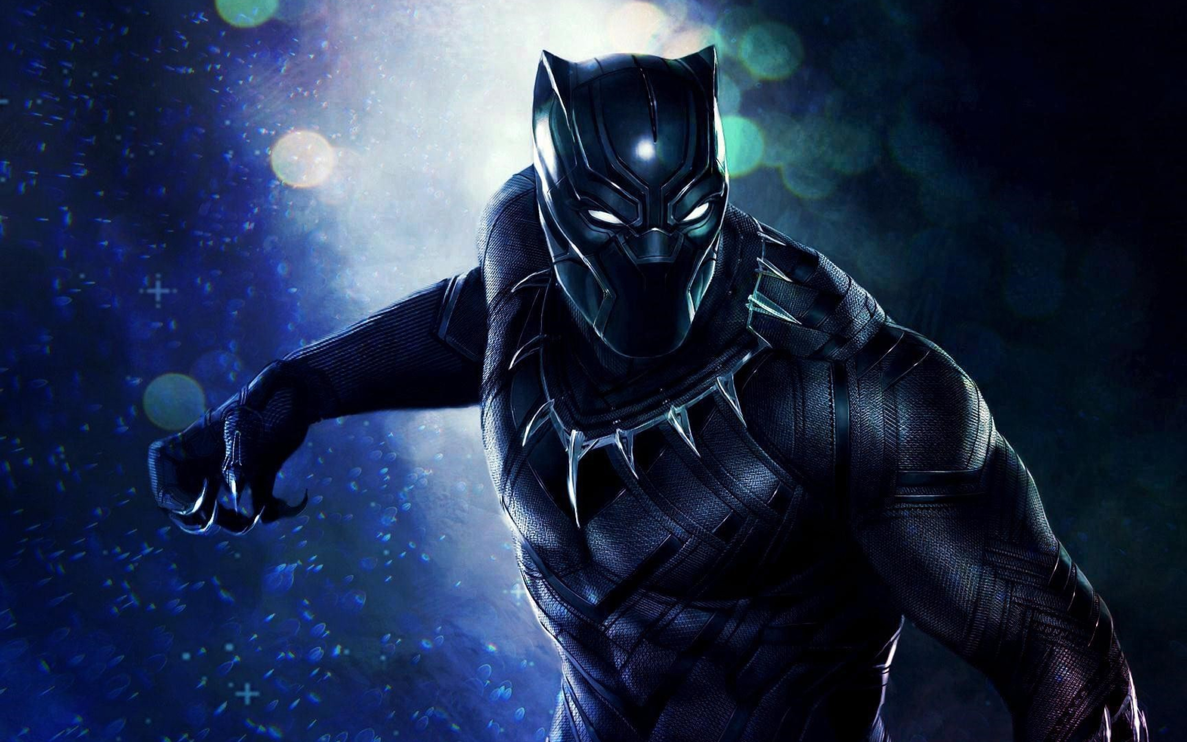 Superhero Black Panther, HD 8K Wallpaper
