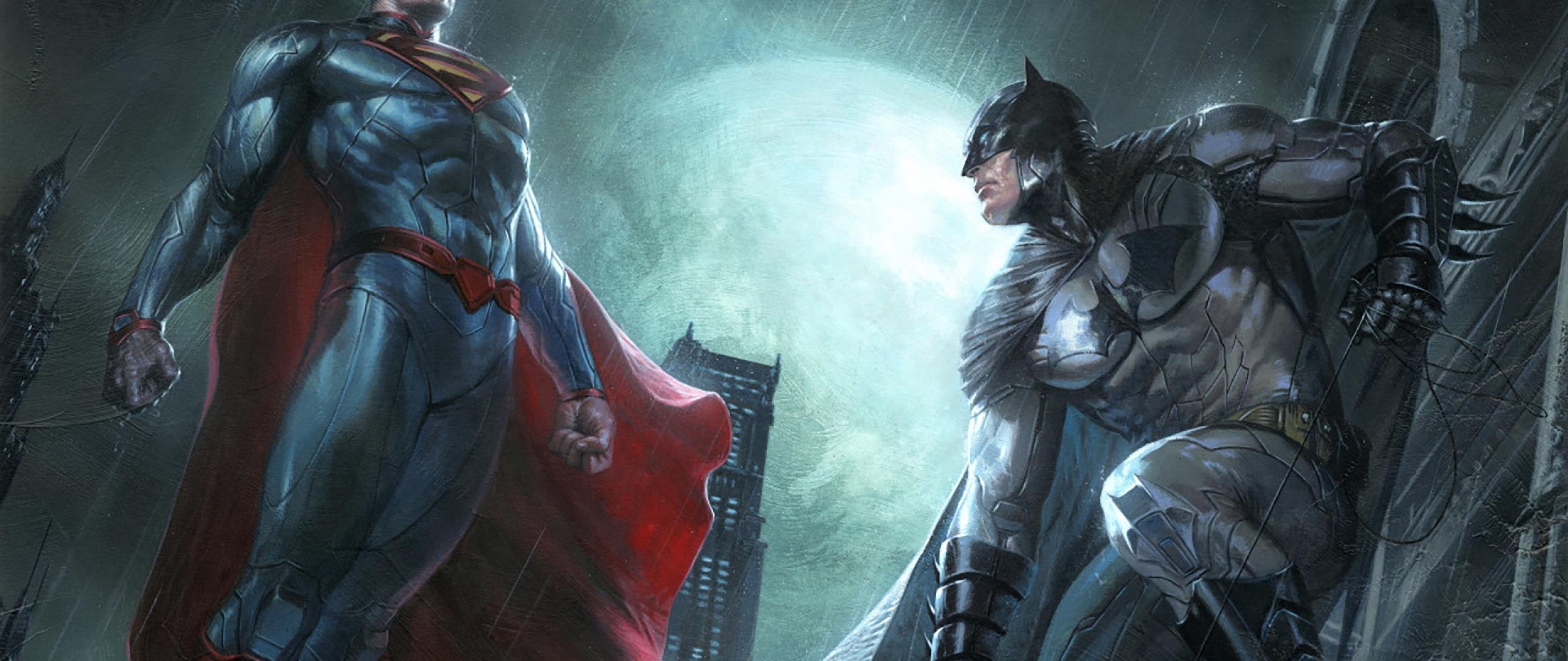 superman and batman dc comics superheroes artwork  full hd
