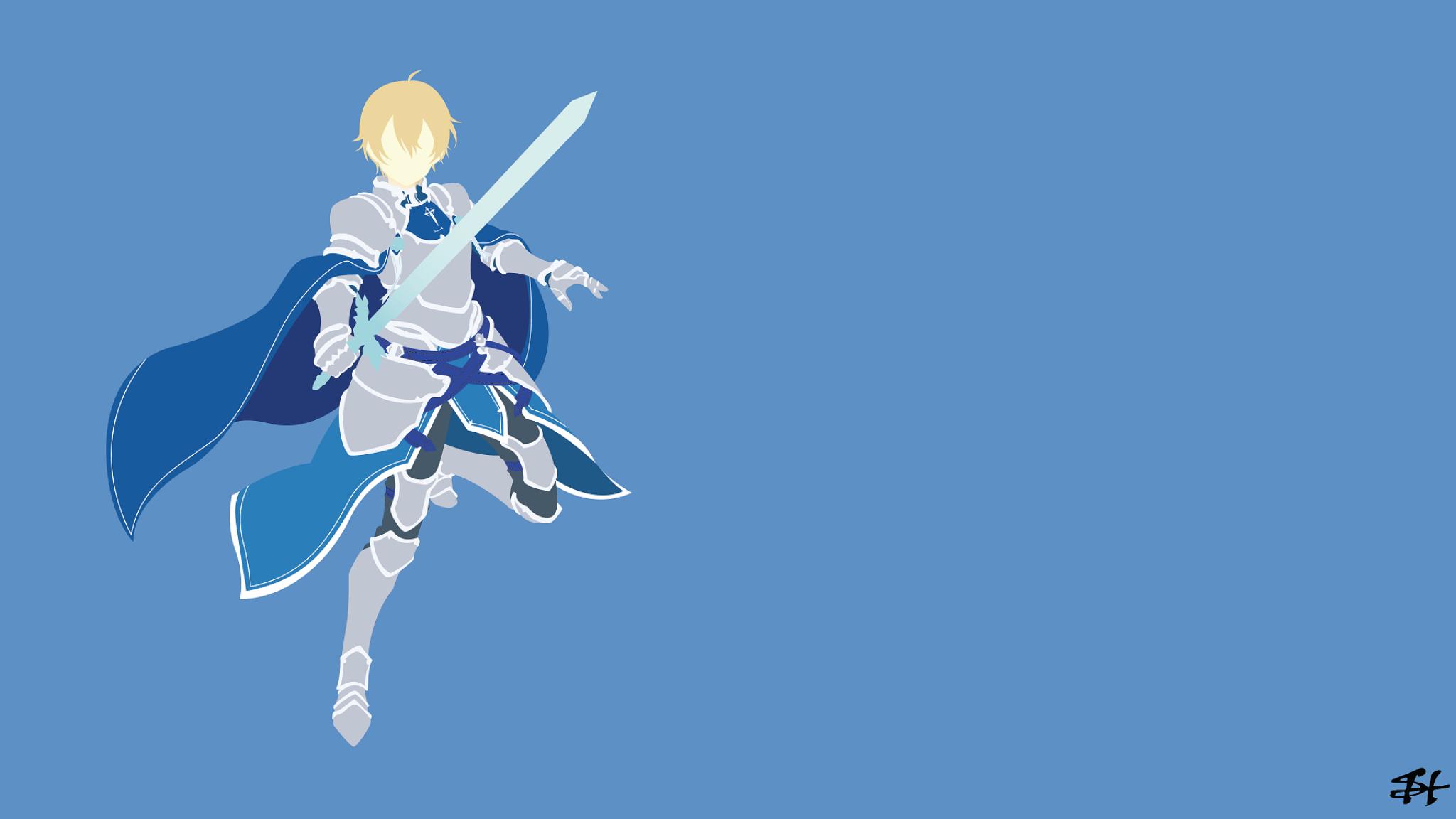 2048x1152 Sword Art Online Alicization Eugeo 2048x1152 Resolution
