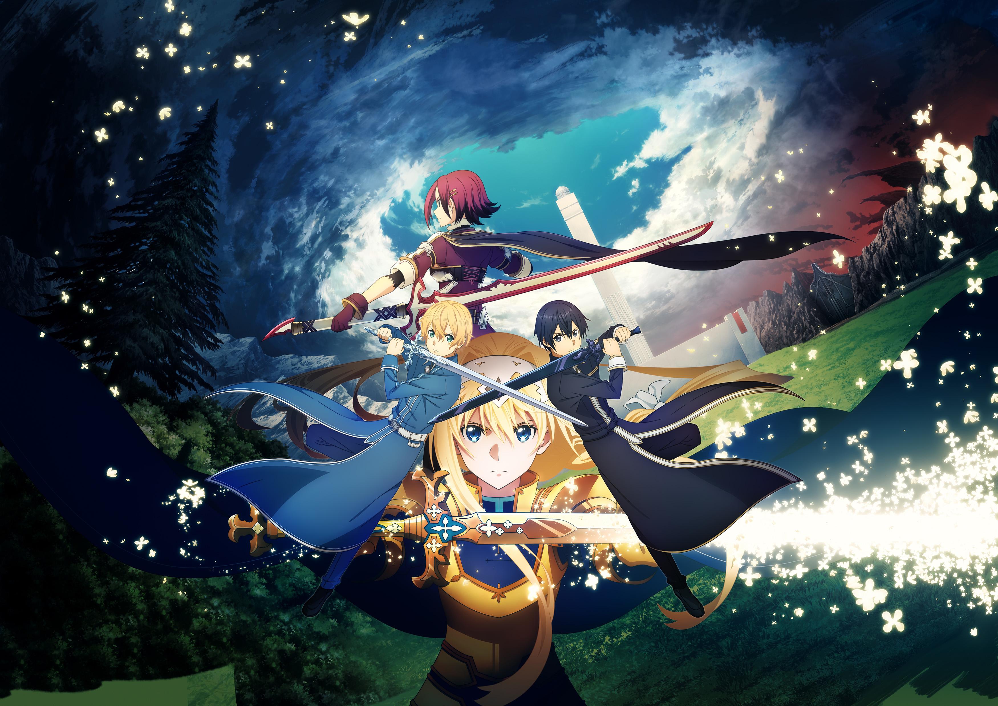 Sword Art Online Alicization Lycoris Wallpaper Hd Games 4k