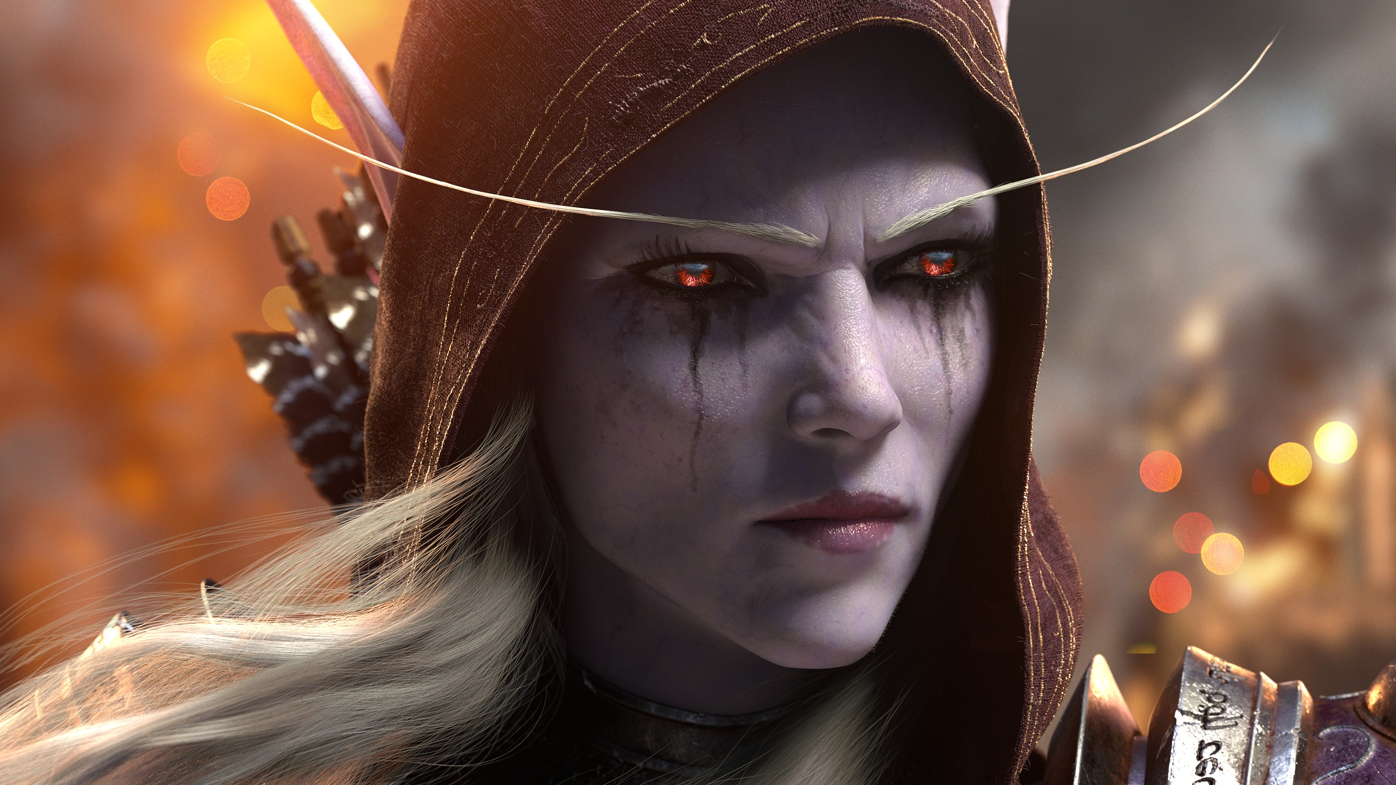 Sylvanas Windrunner World Of Warcraft Battle For Azeroth Wallpaper