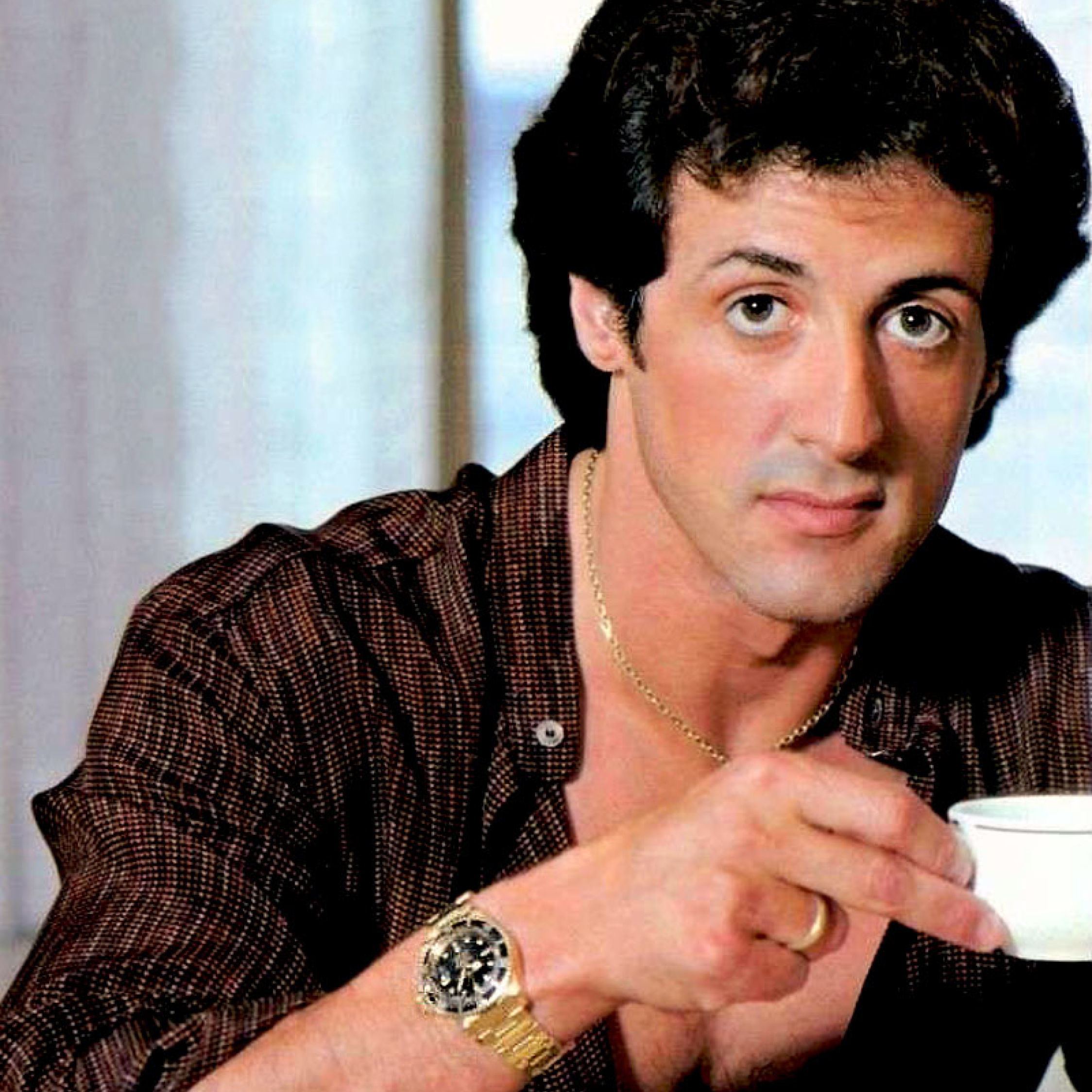 2248x2248 Sylvester Stallone Young Pictures 2248x2248
