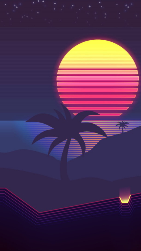 480x854 Synthwave 4k Android One Mobile Wallpaper Hd Artist 4k Wallpapers Images Photos And Background Wallpapers Den