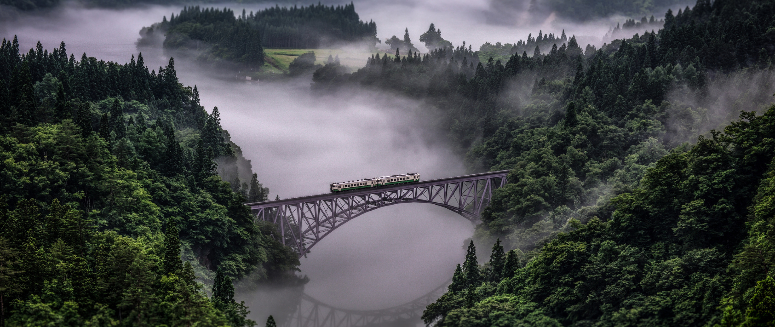 Tadami Line In Japan, Full Hd Wallpaper-7198