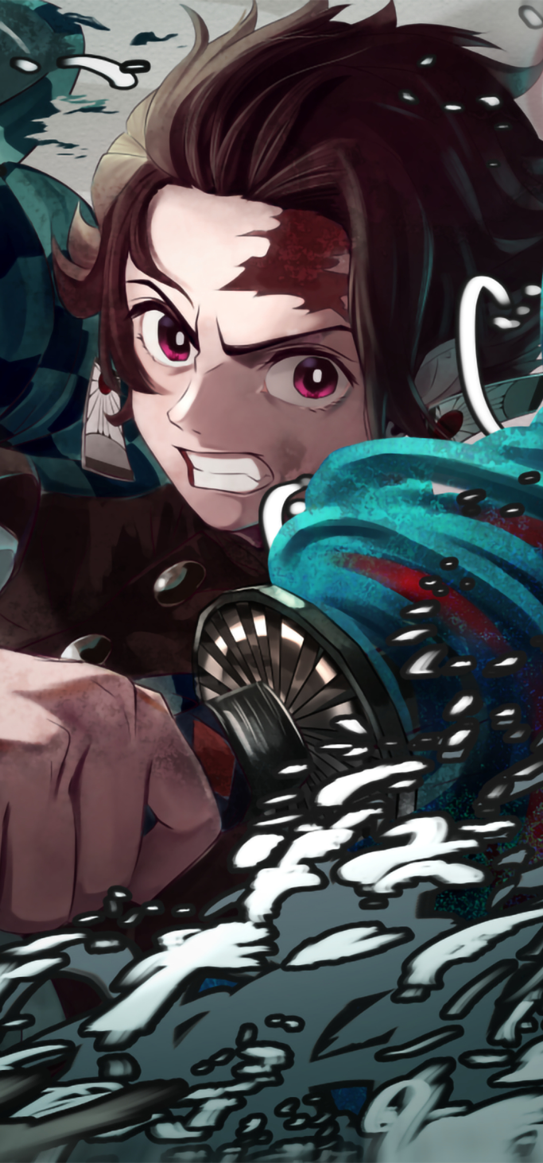 1080x2312 Tanjirou Kamado From Demon Slayer 1080x2312 Resolution Wallpaper, HD Anime 4K ...