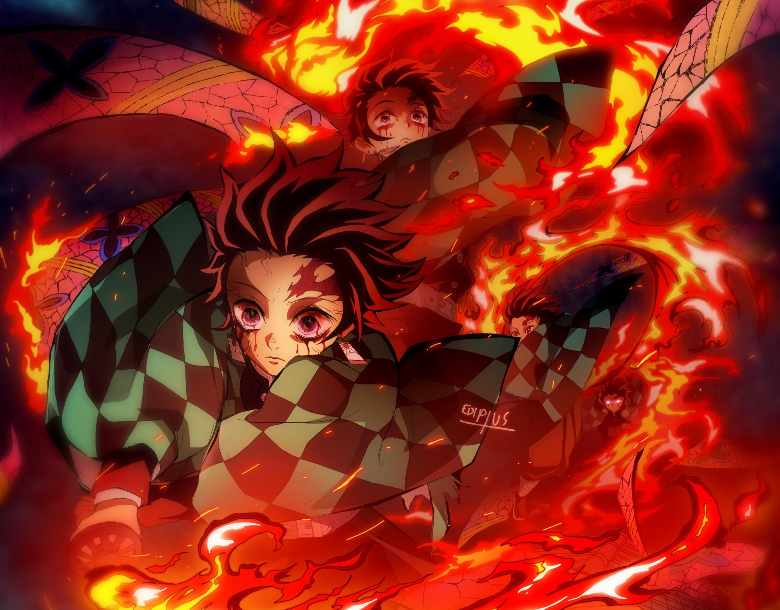 Tanjirou Kimetsu no Yaiba Wallpaper, HD Anime 4K ...
