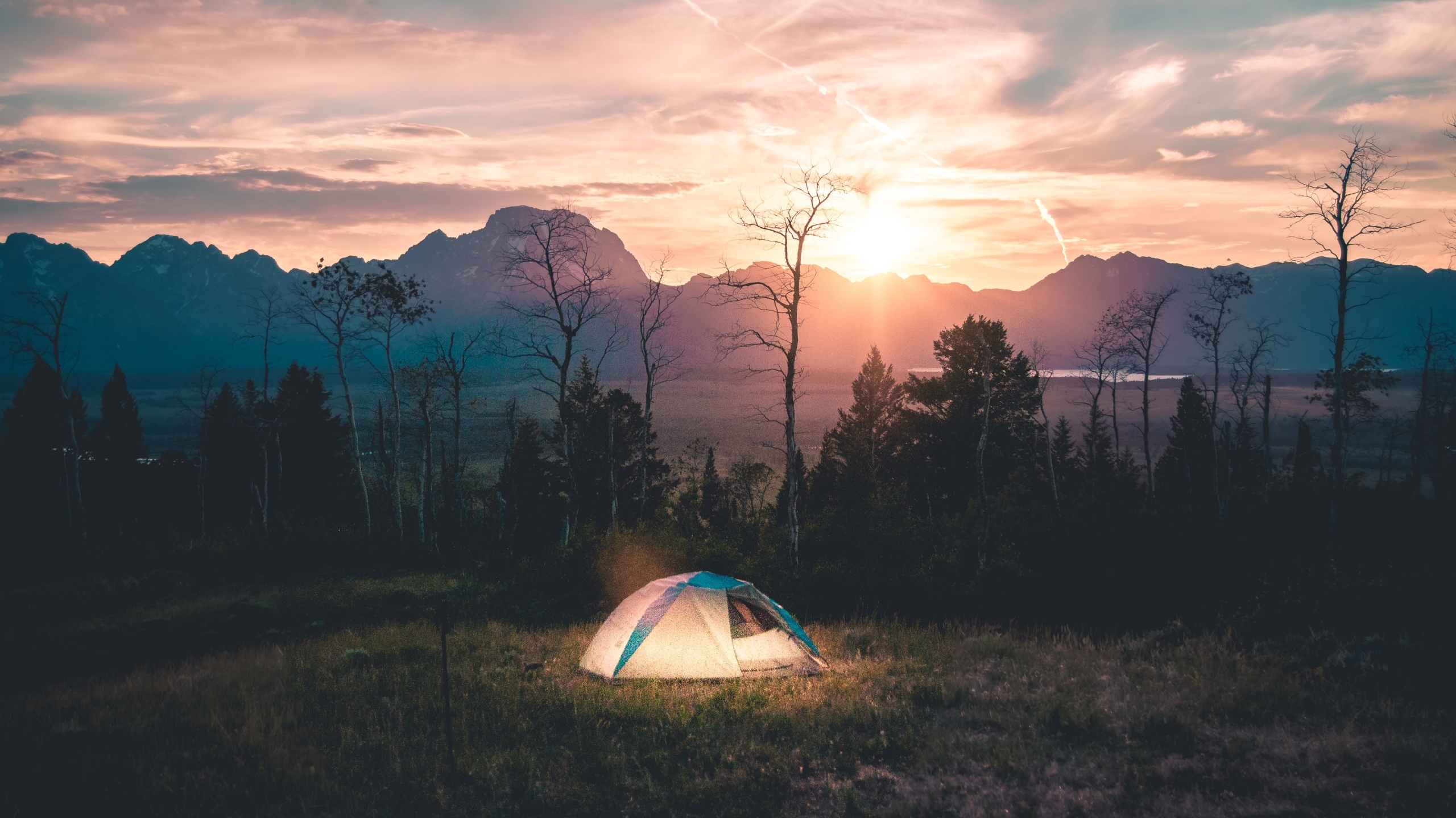 2560x1440 Tent Camping Landscape 1440p Resolution Wallpaper Hd Nature 4k Wallpapers Images Photos And Background